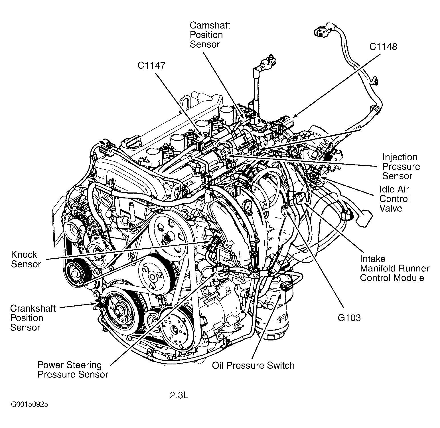 2007 ford focus engine hose diagram