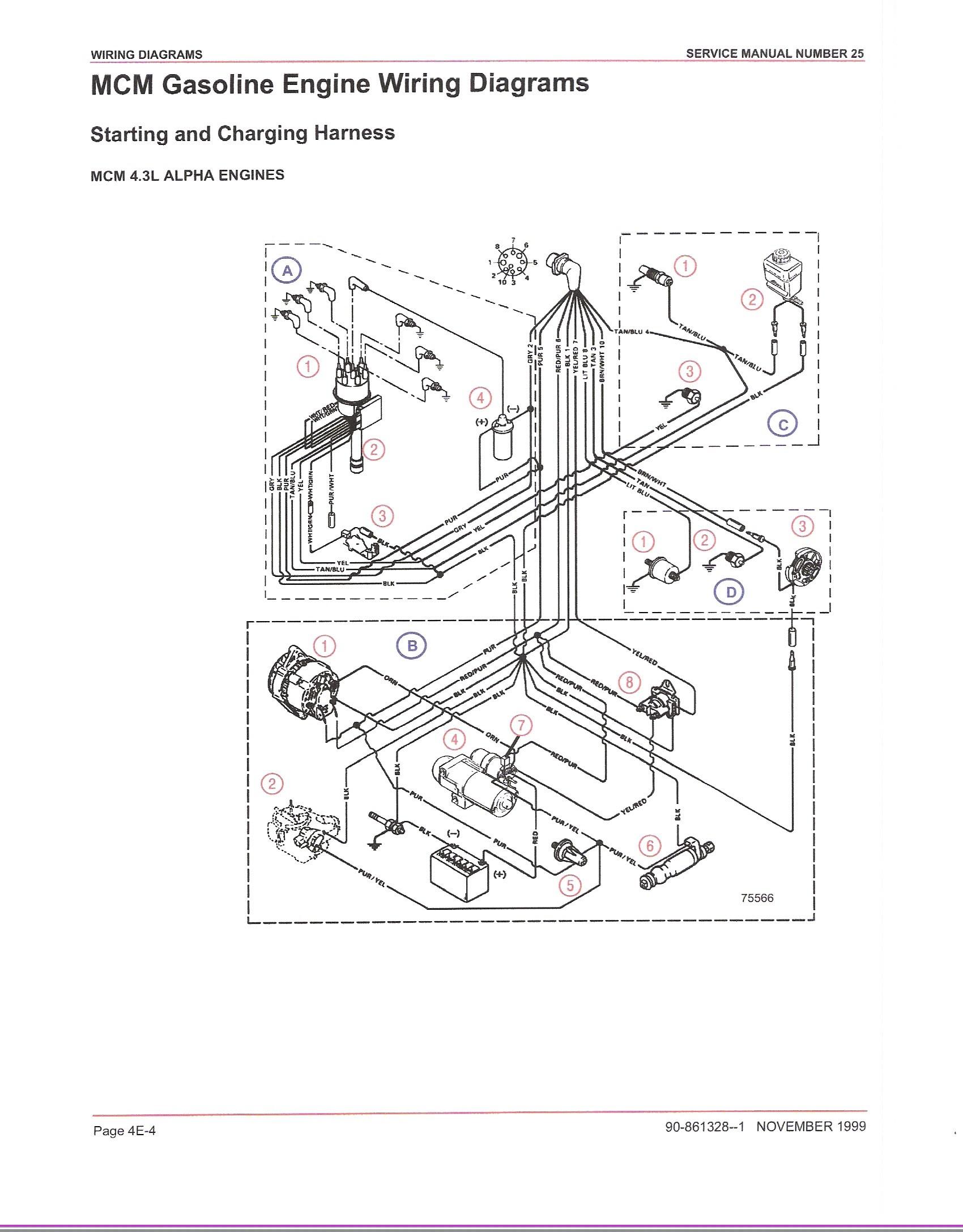 4 3 Vortec Engine Firing order Diagram 4 3l Coil Wiring
