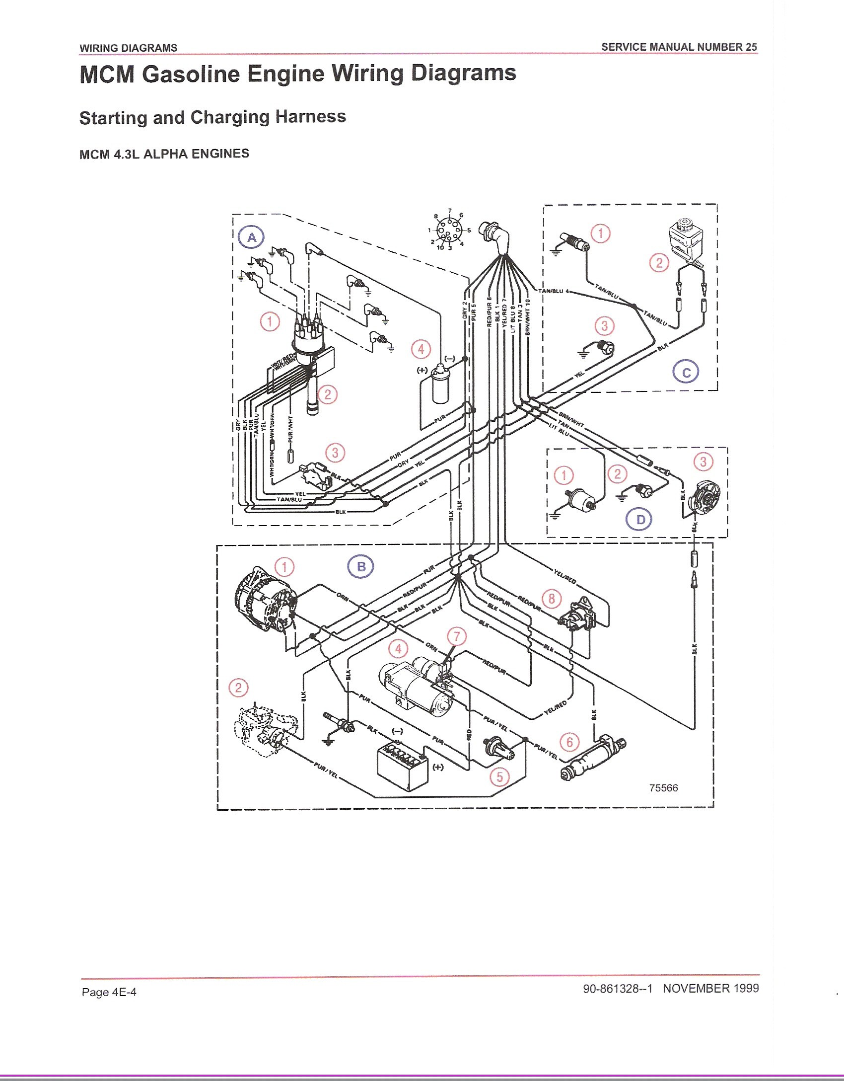 4 3 vortec firing order diagram way active crossover circuit engine 3l coil wiring
