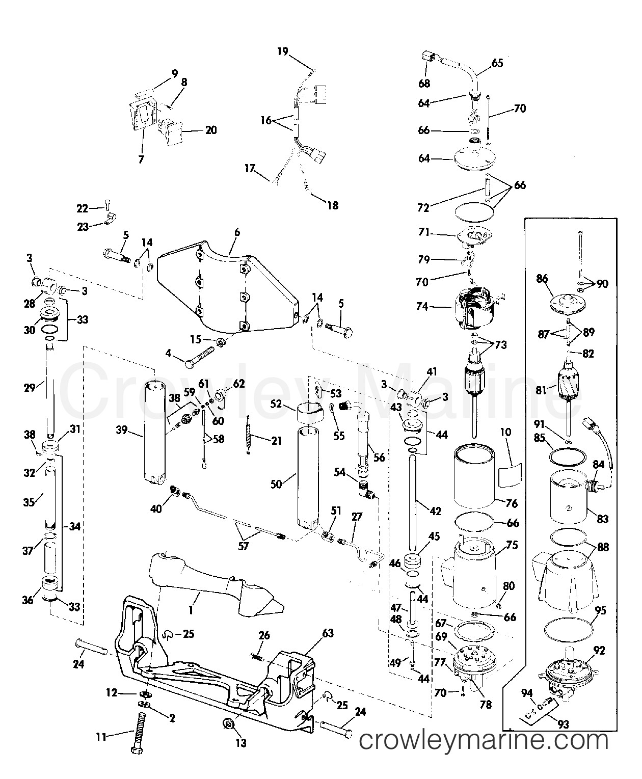 40 Hp Evinrude Parts Diagram 25 Hp Johnson Wiring Diagram