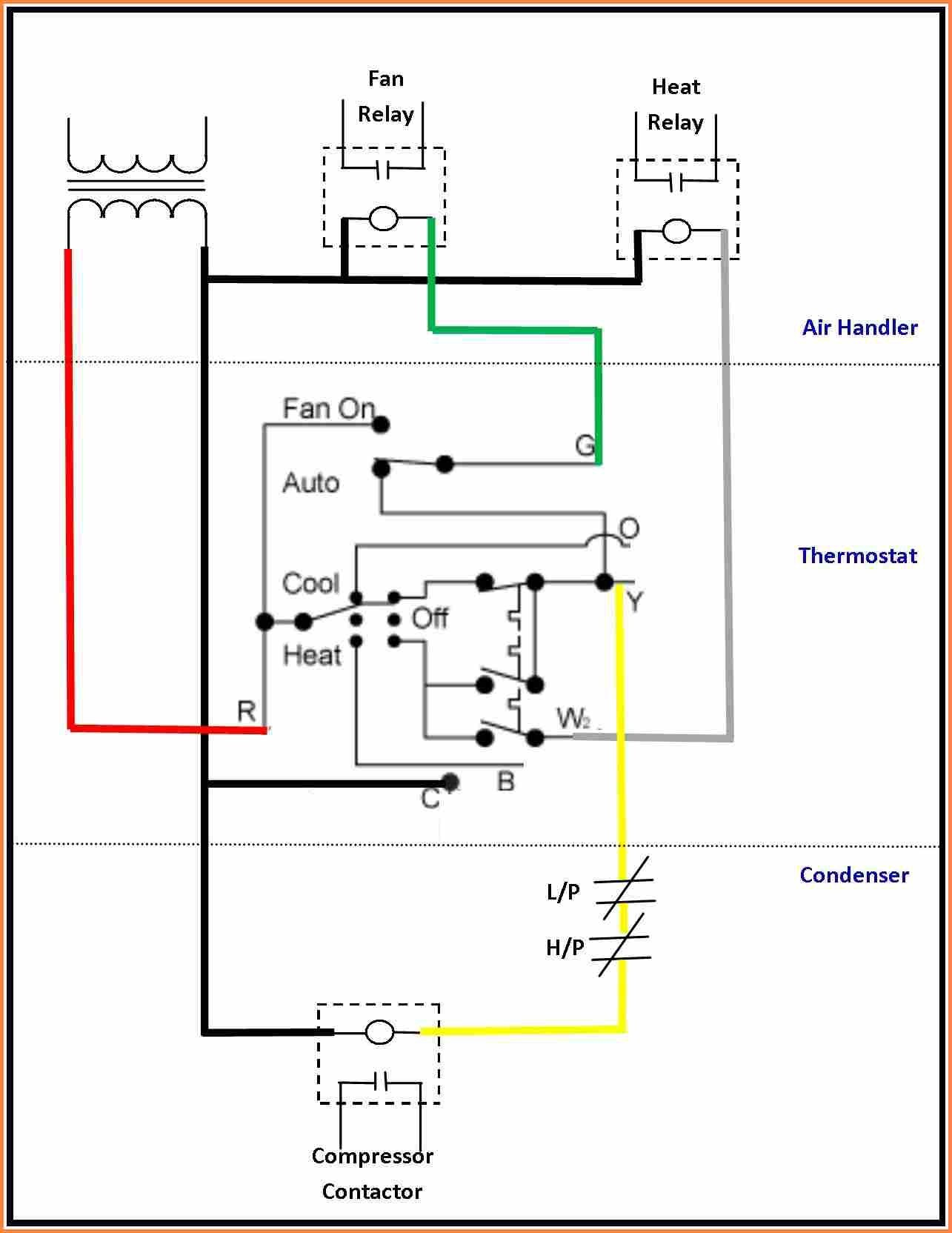 goodman wiring diagram air conditioner 2004 kia sedona fuel pump conditioning thermostat luxury