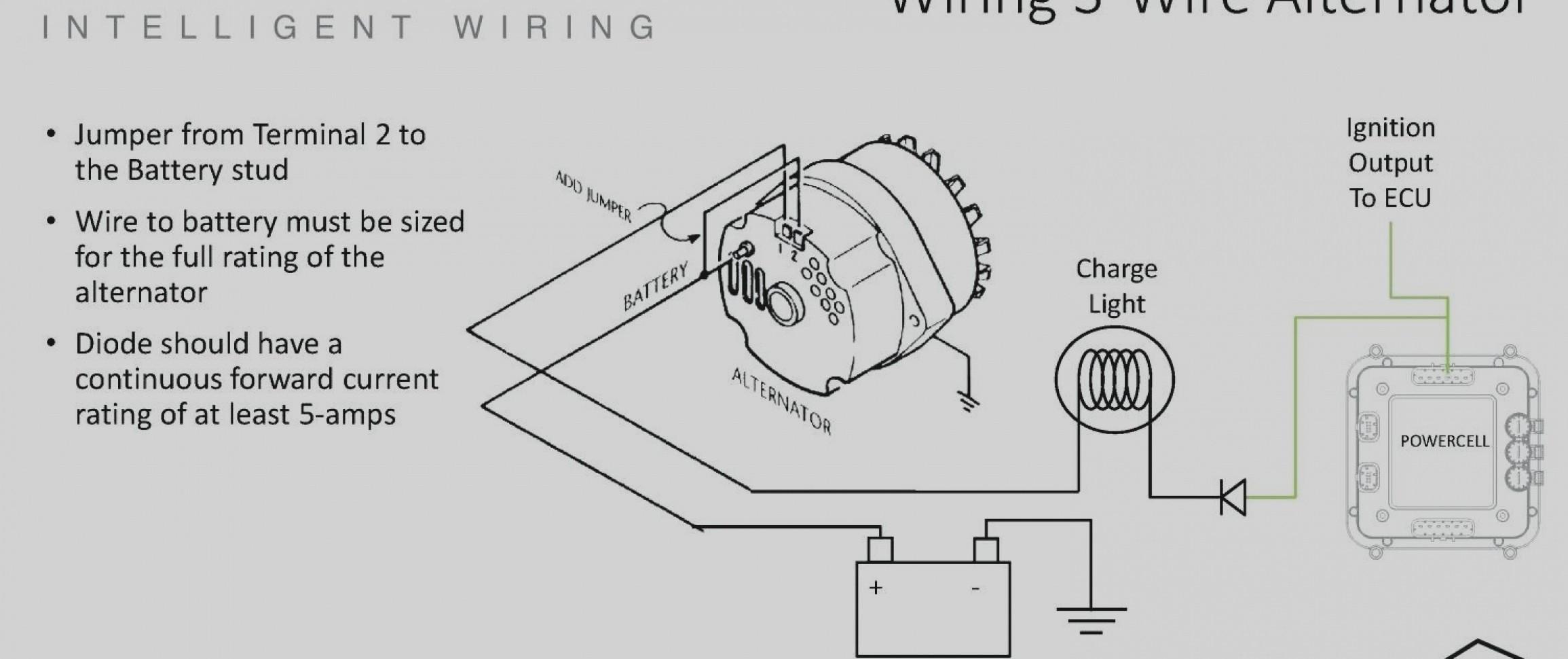 Alternator Wiring Diagram Internal Regulator Wiring