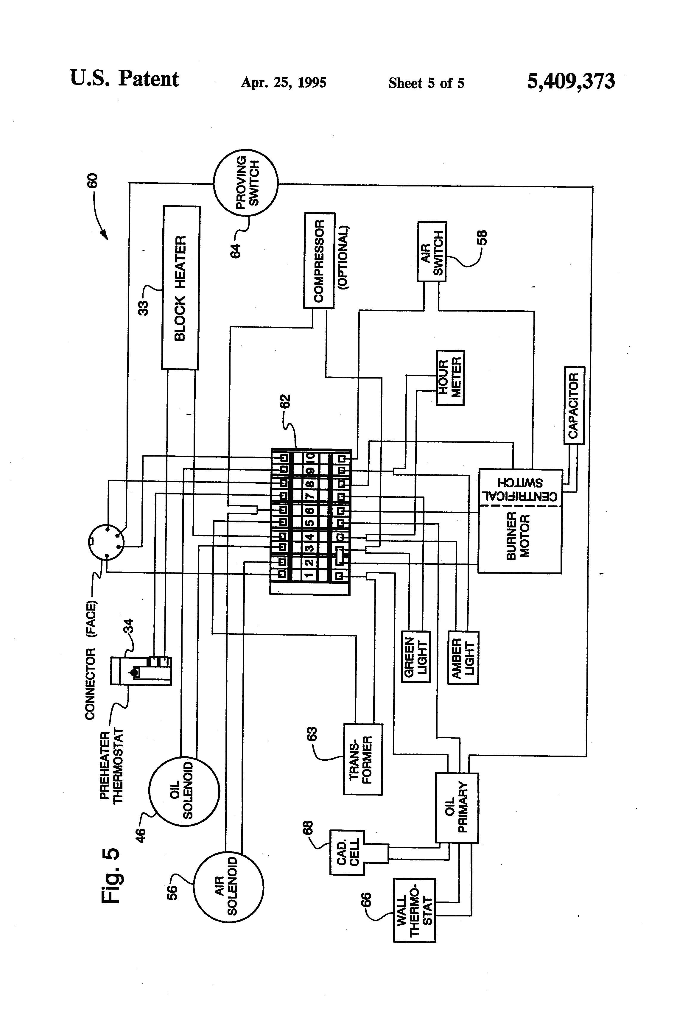 Beckett Oil Burner Parts Diagram Oil Burner Wiring Diagram