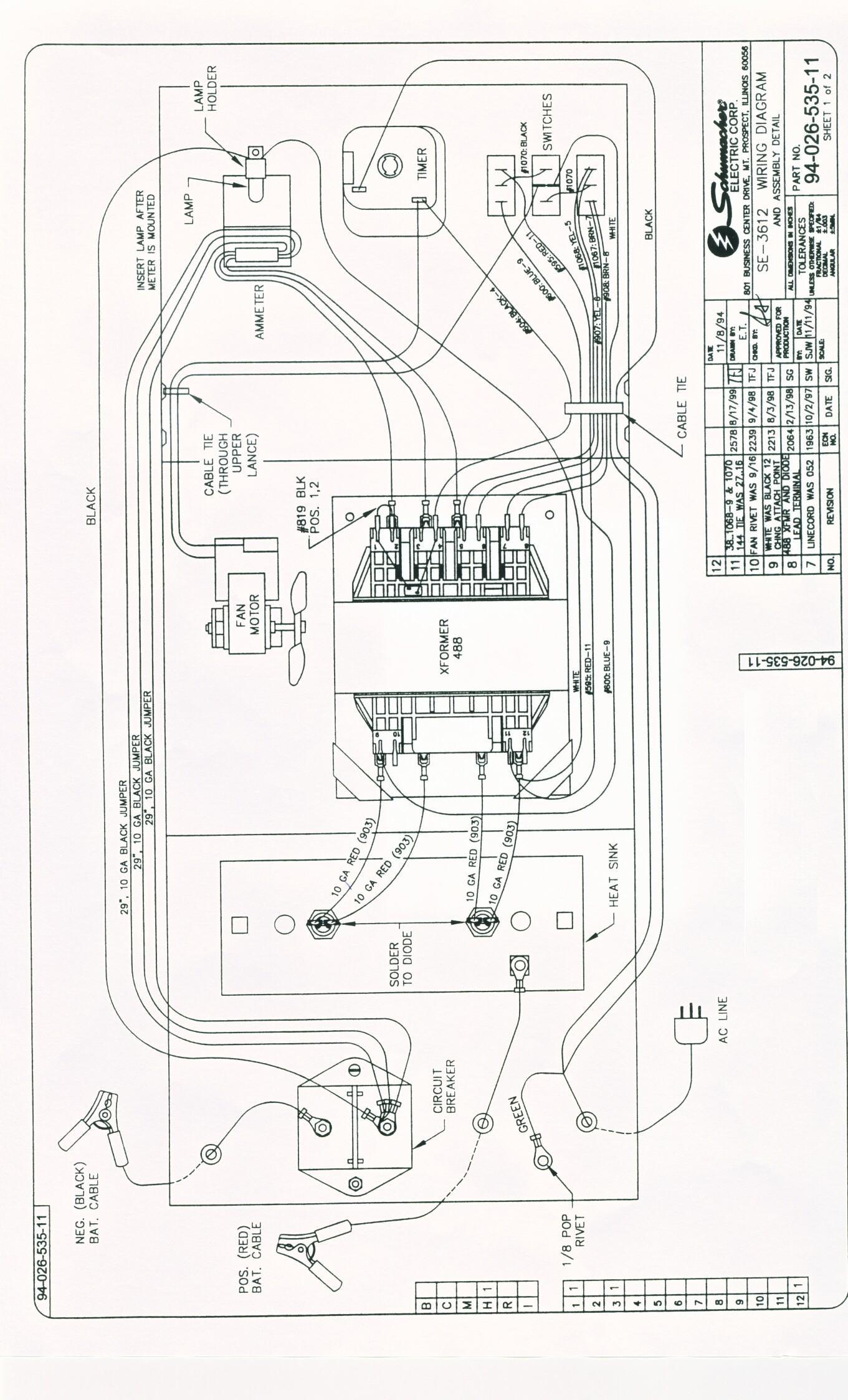 ps3000 schumacher battery charger wiring diagram best