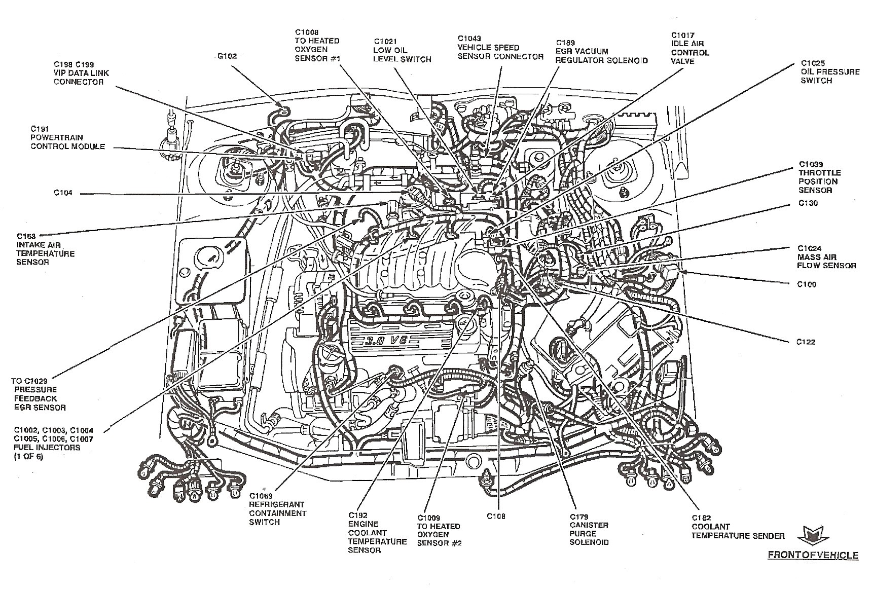 Engine Coolant Diagram Coolant Temperature Sensor Wiring