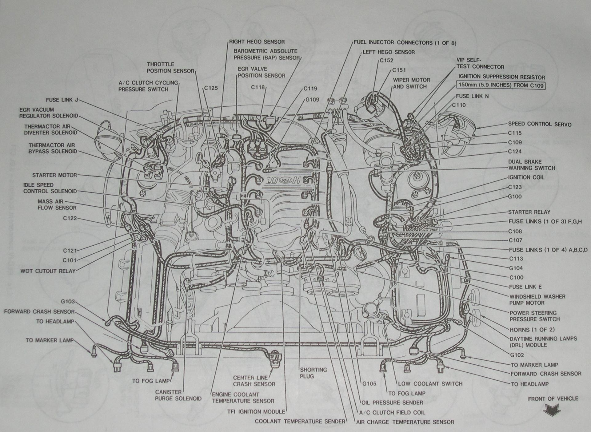 1995 mustang alternator wiring diagram ford 8n kaufen engine my