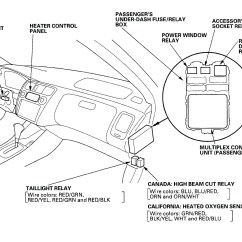 Honda Civic 98 Fuse Box Diagram Cargo Light Wiring 1998 Engine 1996 Accord Ignition