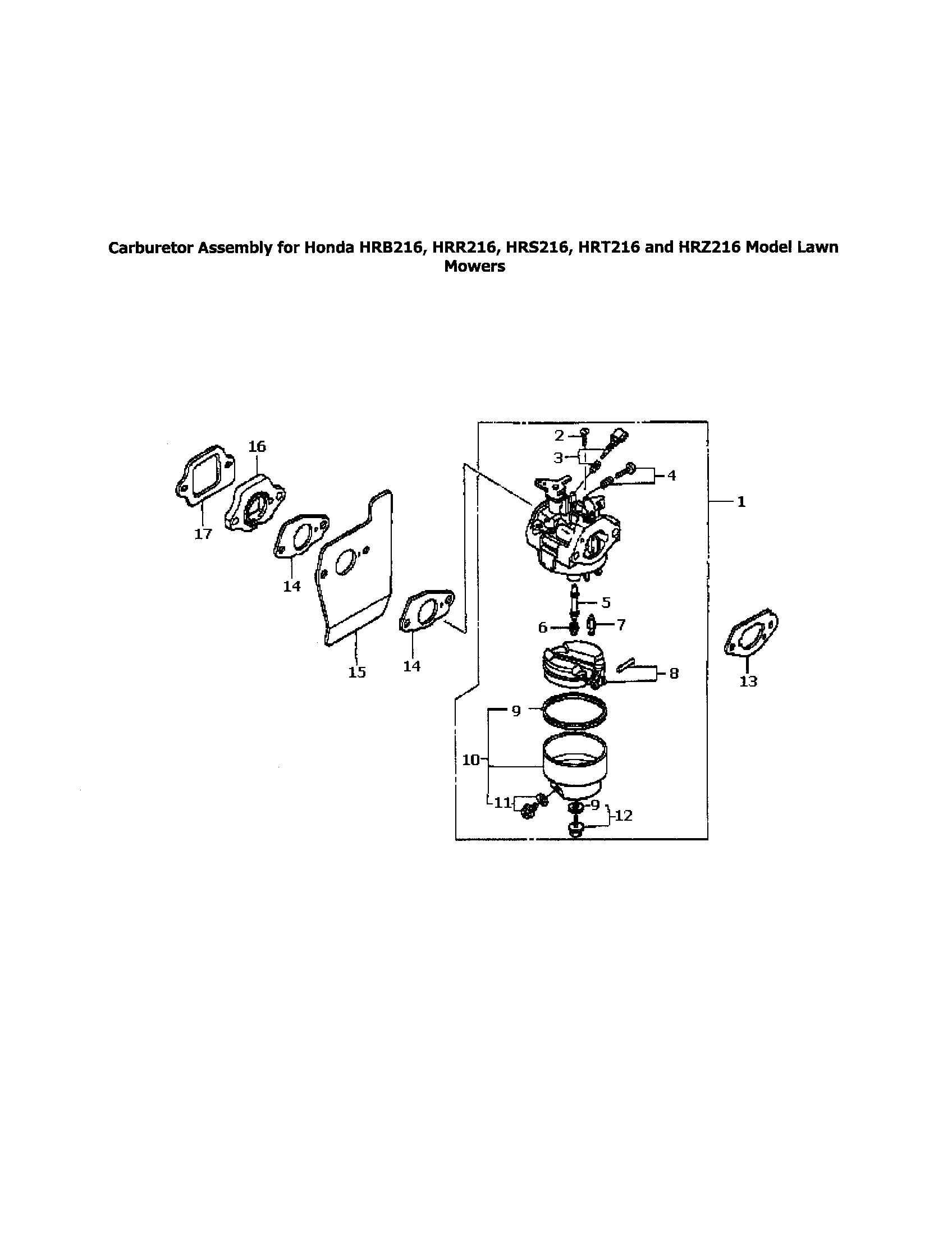Honda Small Engine Carburetor Diagram 1983 Bf75l Honda 7
