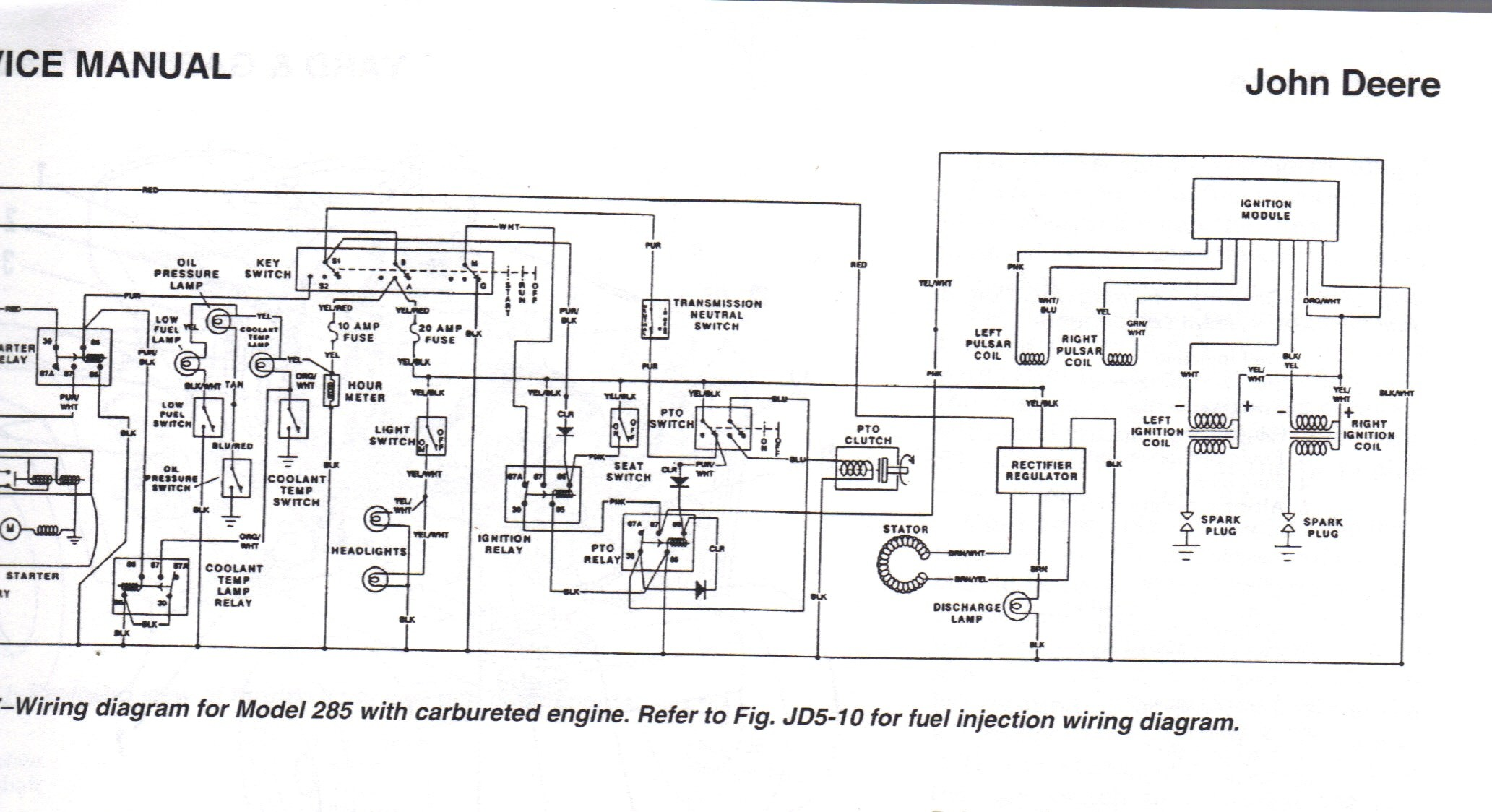 1445 John Deere Ignition Wiring Diagram Auto Electrical Wiring Diagram John  Deere 1445 Manual 1445 John Deere Ignition Wiring Diagram