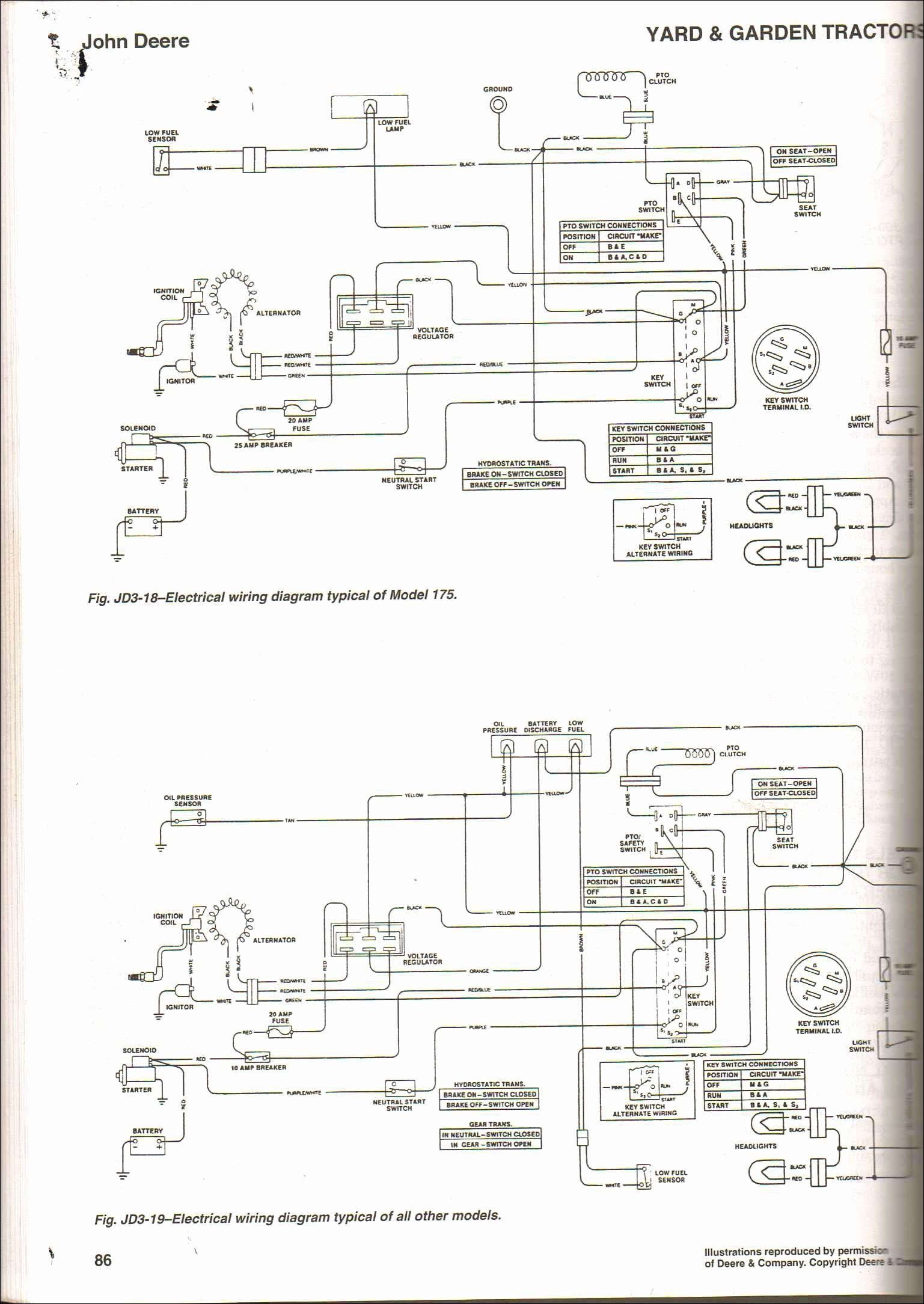 John Deere Lt 133 Wiring Diagram : deere, wiring, diagram, Deere, Lt133, Wiring, Schematic, Tricopter, Diagram