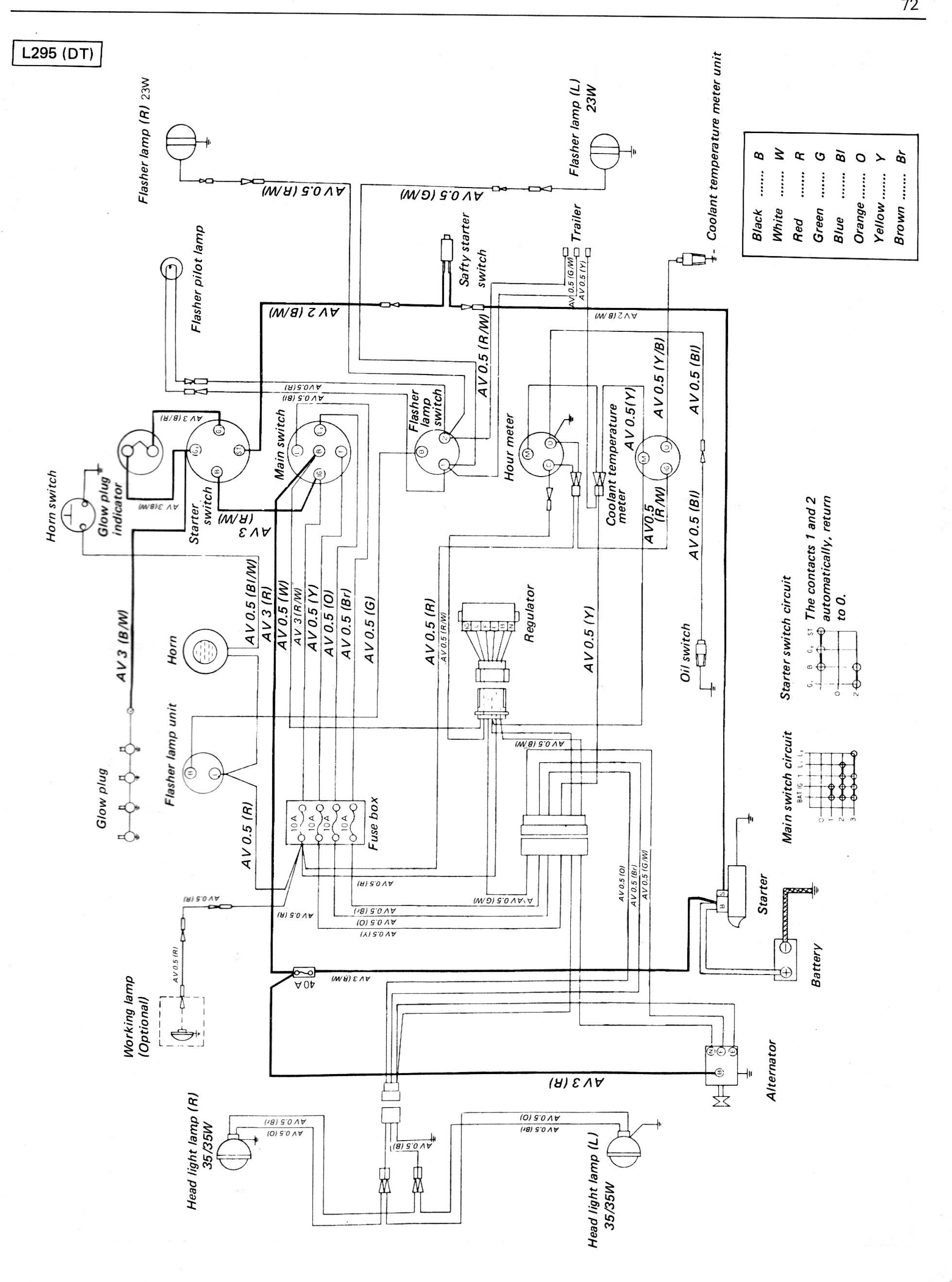 Diagram Typical Starter Relay Wiring Diagram Kubota