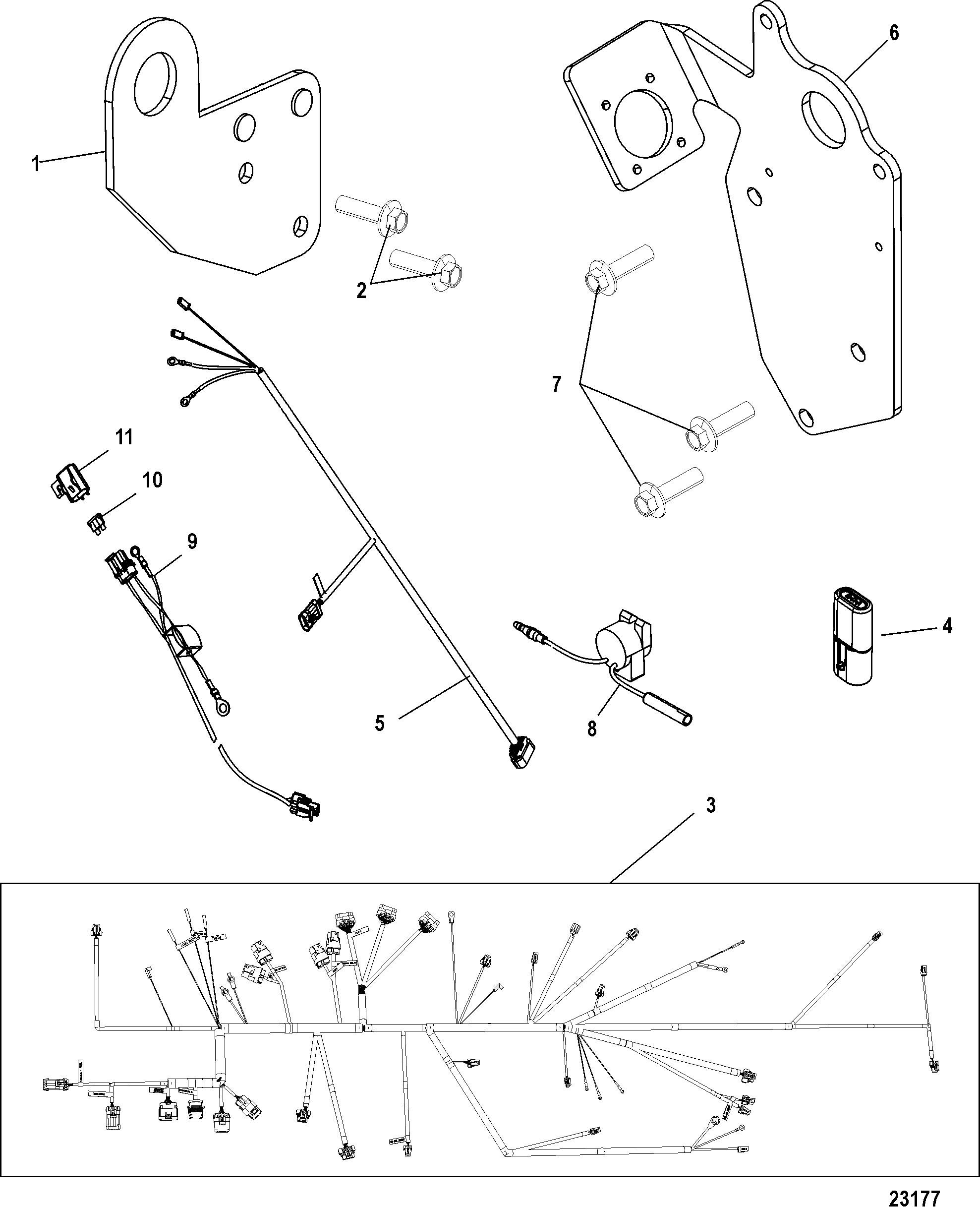 Mercury Outboard Engine Diagram Carburetor Wmc 9 10 11 12