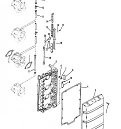 mercury outboard engine diagram mercury outboard motor parts diagram mercury mercury 115 4 cyl of [ 1871 x 2359 Pixel ]