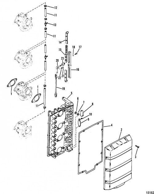small resolution of mercury outboard engine diagram mercury outboard motor parts diagram mercury mercury 115 4 cyl of