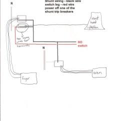 Ge Shunt Trip Circuit Breaker Wiring Diagram Electric Range Oven Square D