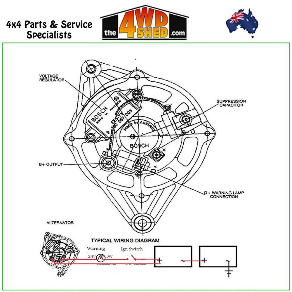 medium resolution of bosch universal alternator wiring diagram wiring diagram dat bosch 12v alternator wiring diagram