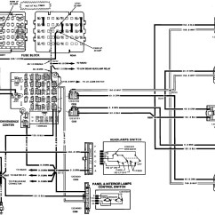 1993 Chevy S10 Stereo Wiring Diagram For Condenser Fan Motor My