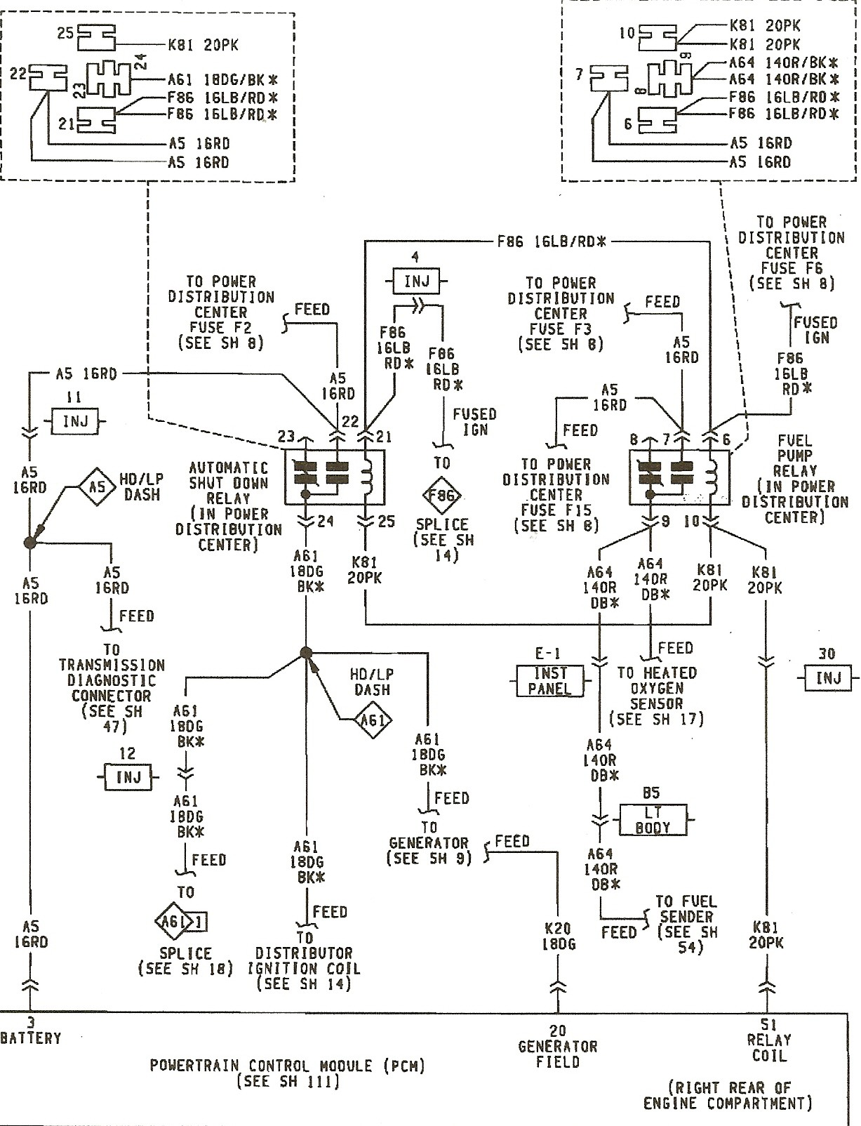 1995 jeep grand cherokee wiring diagram bones in hand and wrist by wrangler engine my