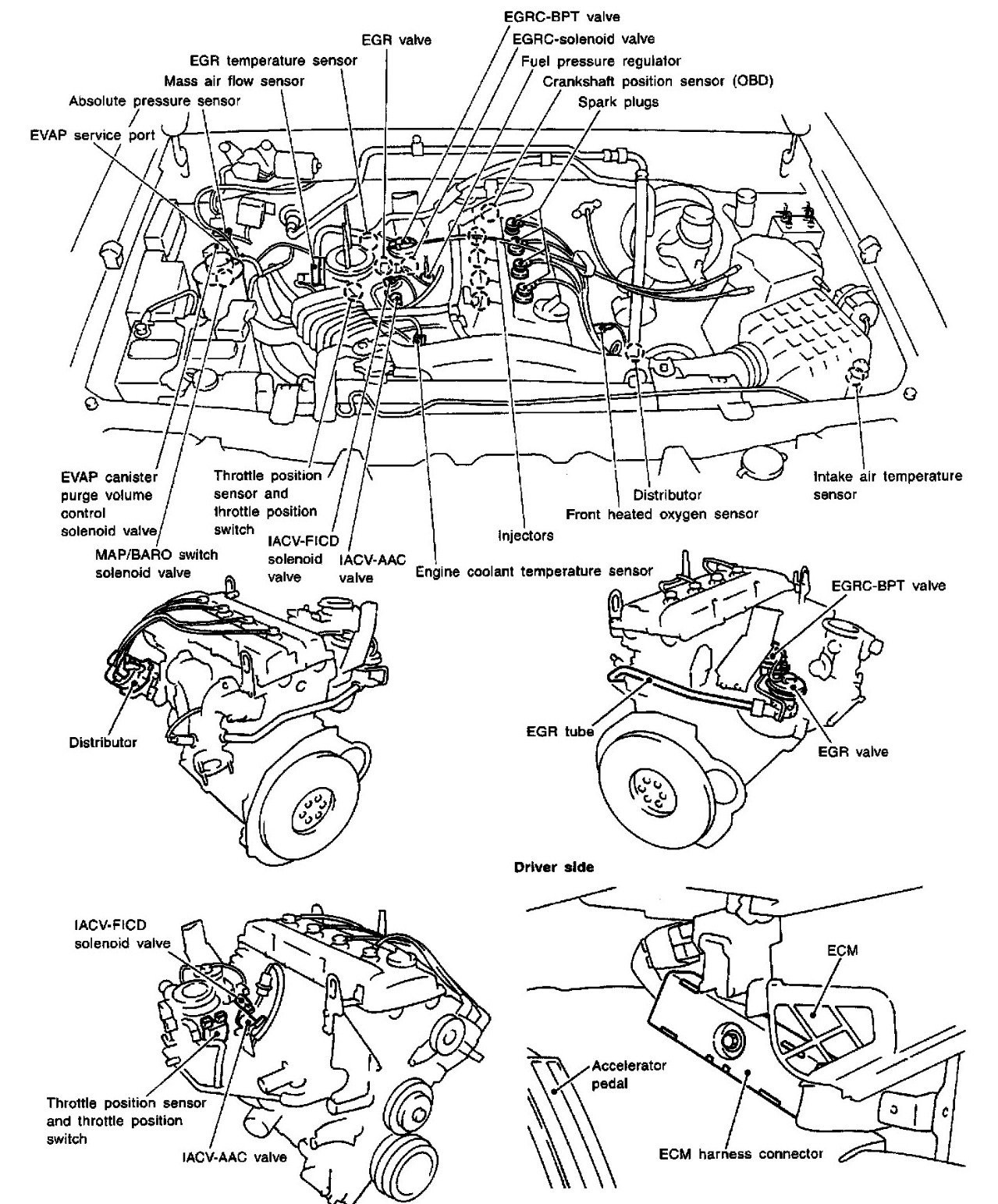 Nissan Frontier Engine Diagram