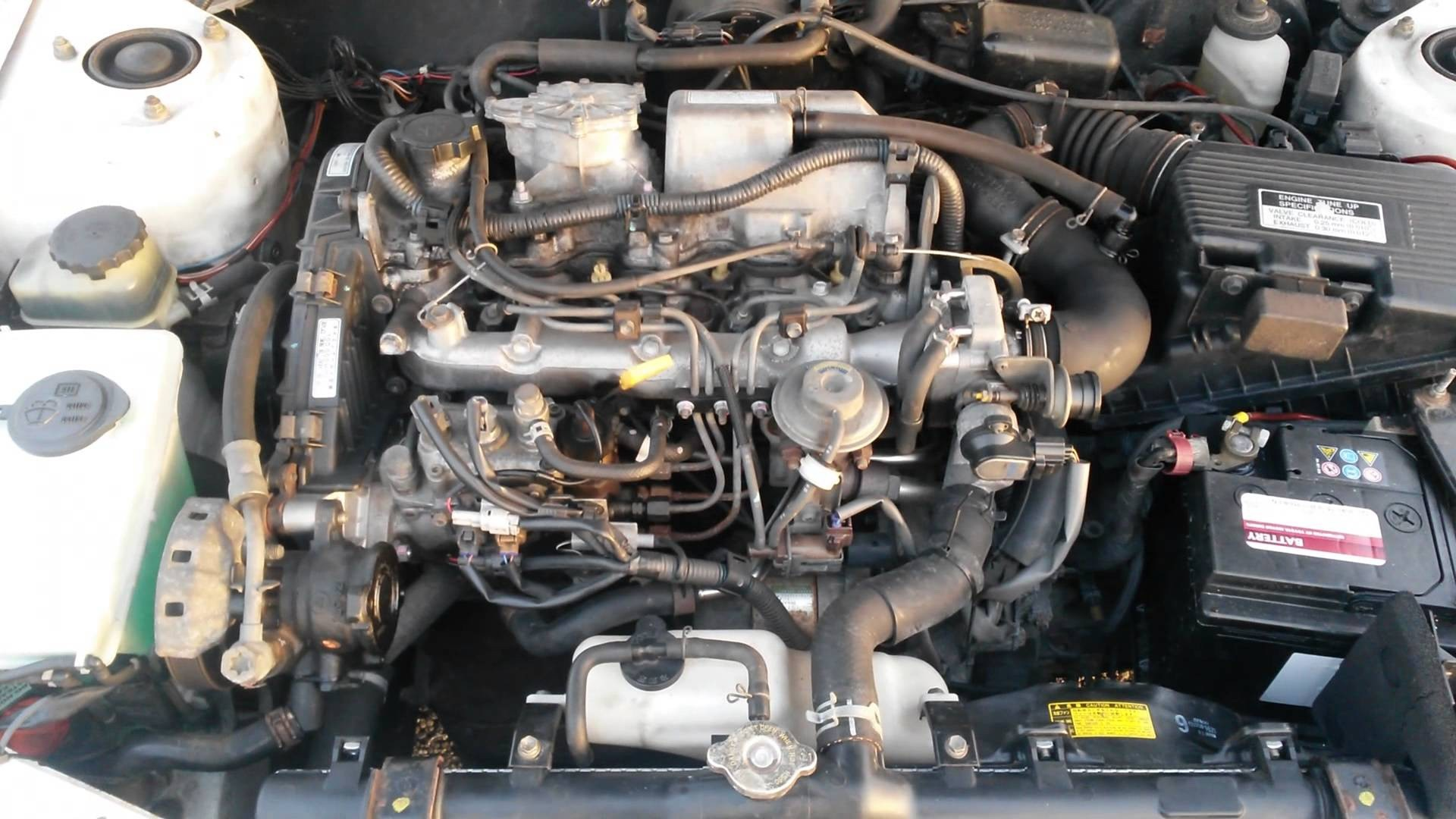 hight resolution of 2001 toyota corolla engine diagram hot toyota corolla e11 2 0d 2ce start up specs and