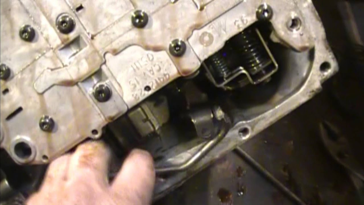 hight resolution of 2010 chrysler town and country engine diagram a670 transmission valve body removial 3 speed with od