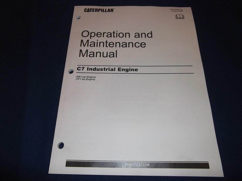 medium resolution of 3208 cat engine parts diagram cat caterpillar c7 industrial engine operation maintenance manual