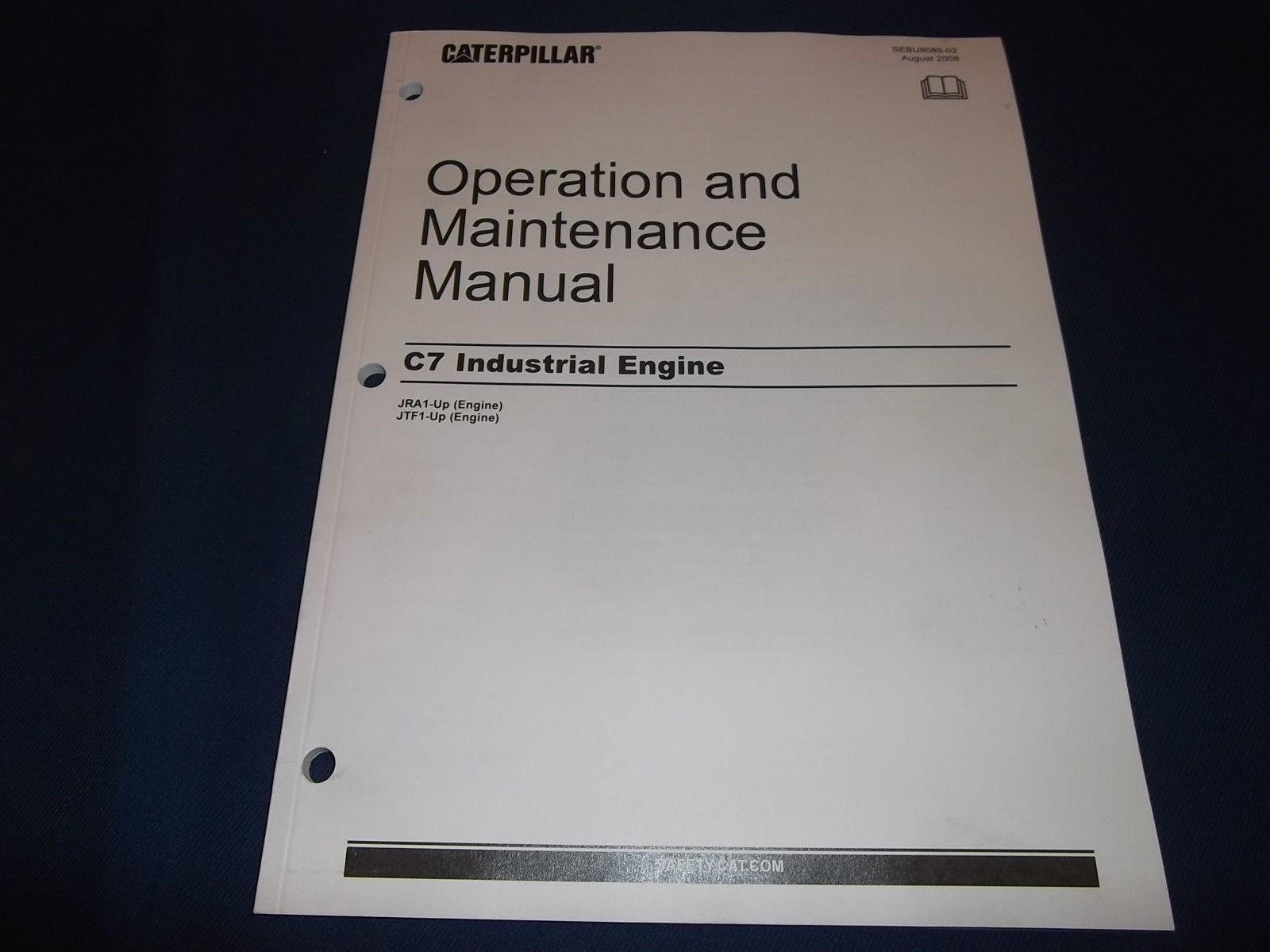 hight resolution of 3208 cat engine parts diagram cat caterpillar c7 industrial engine operation maintenance manual