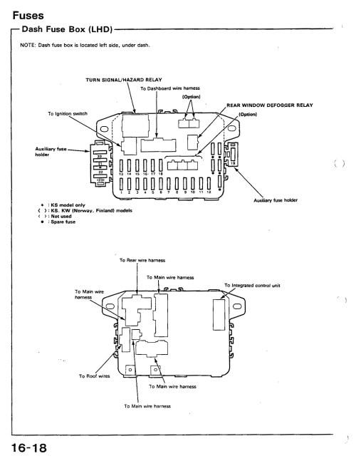 small resolution of 91 honda accord engine diagram 91 civic si fuse diagram honda tech honda forum discussion of