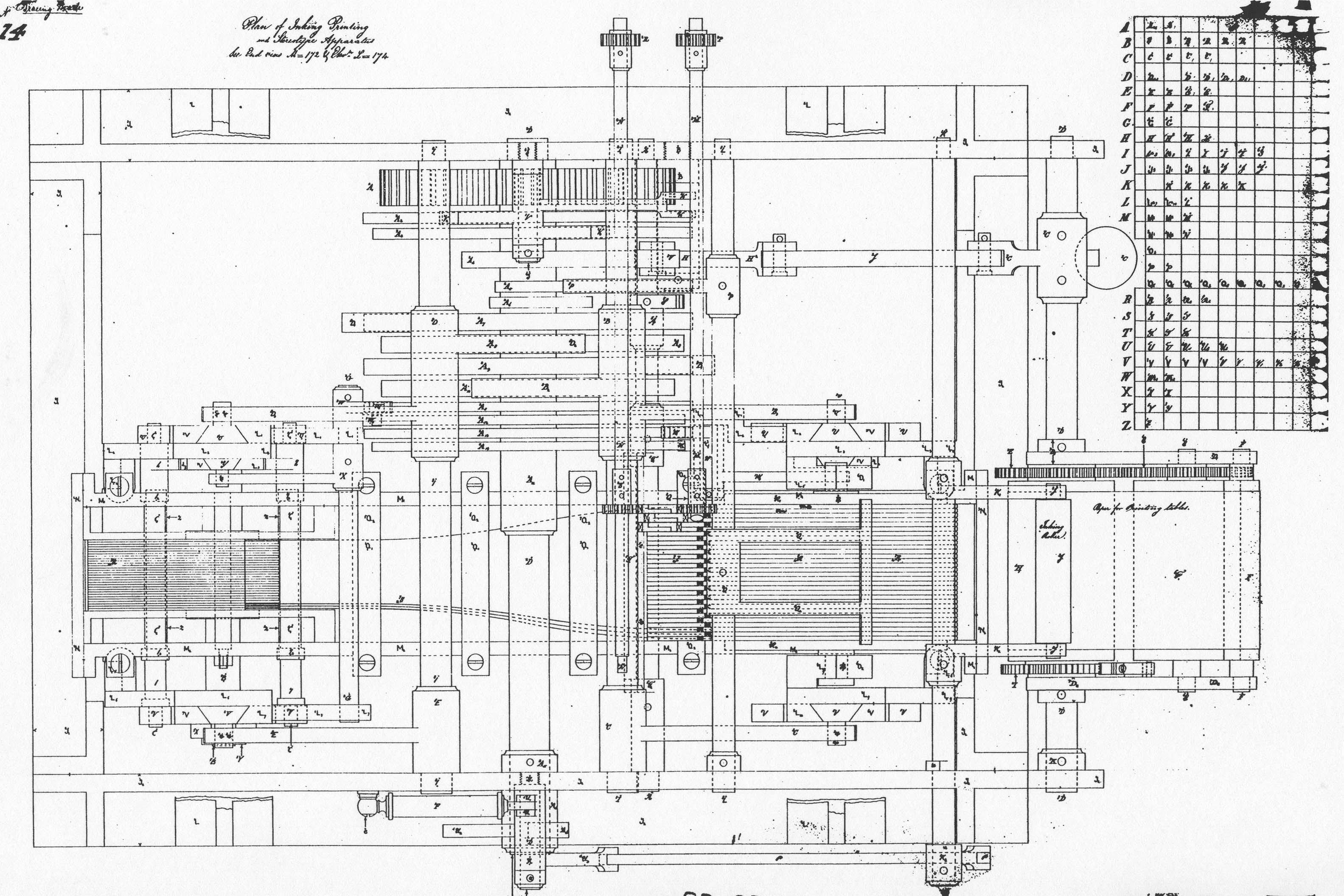 Babbageytical Engine Diagram