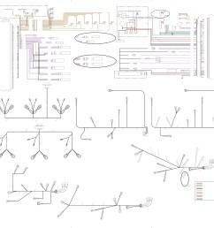 caterpillar c12 engine diagram diagrama electrico caterpillar 3406e c10 c12 c15 c16  [ 3553 x 3188 Pixel ]