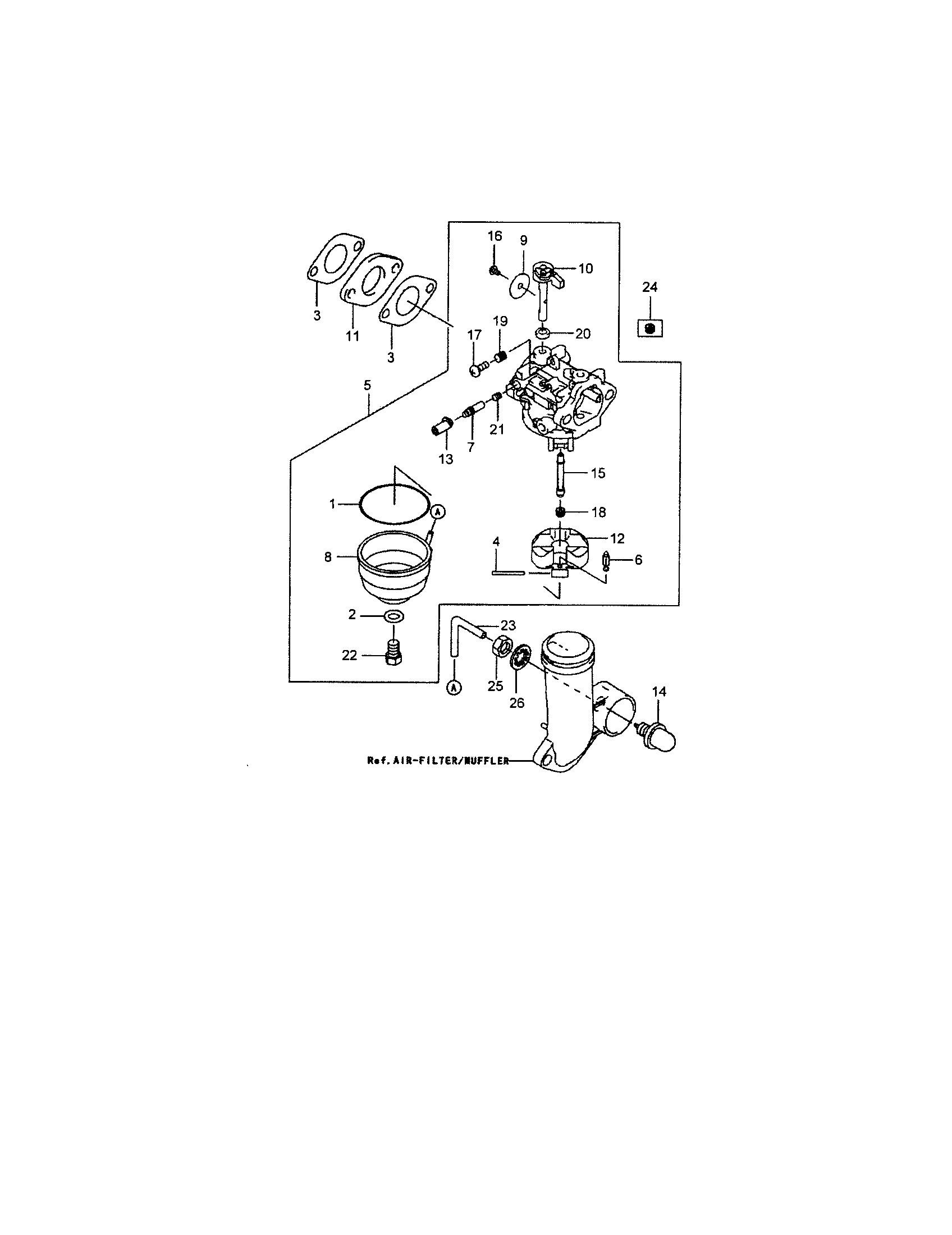 Craftsman Lawn Mower Engine Parts Diagram Craftsman 19 5