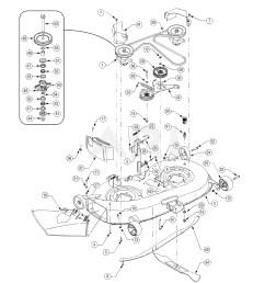 cub cadet lt1042 parts diagram my wiring diagram cub cadet mower deck diagram cub cadet ltx 1042 mower deck [ 1500 x 1941 Pixel ]