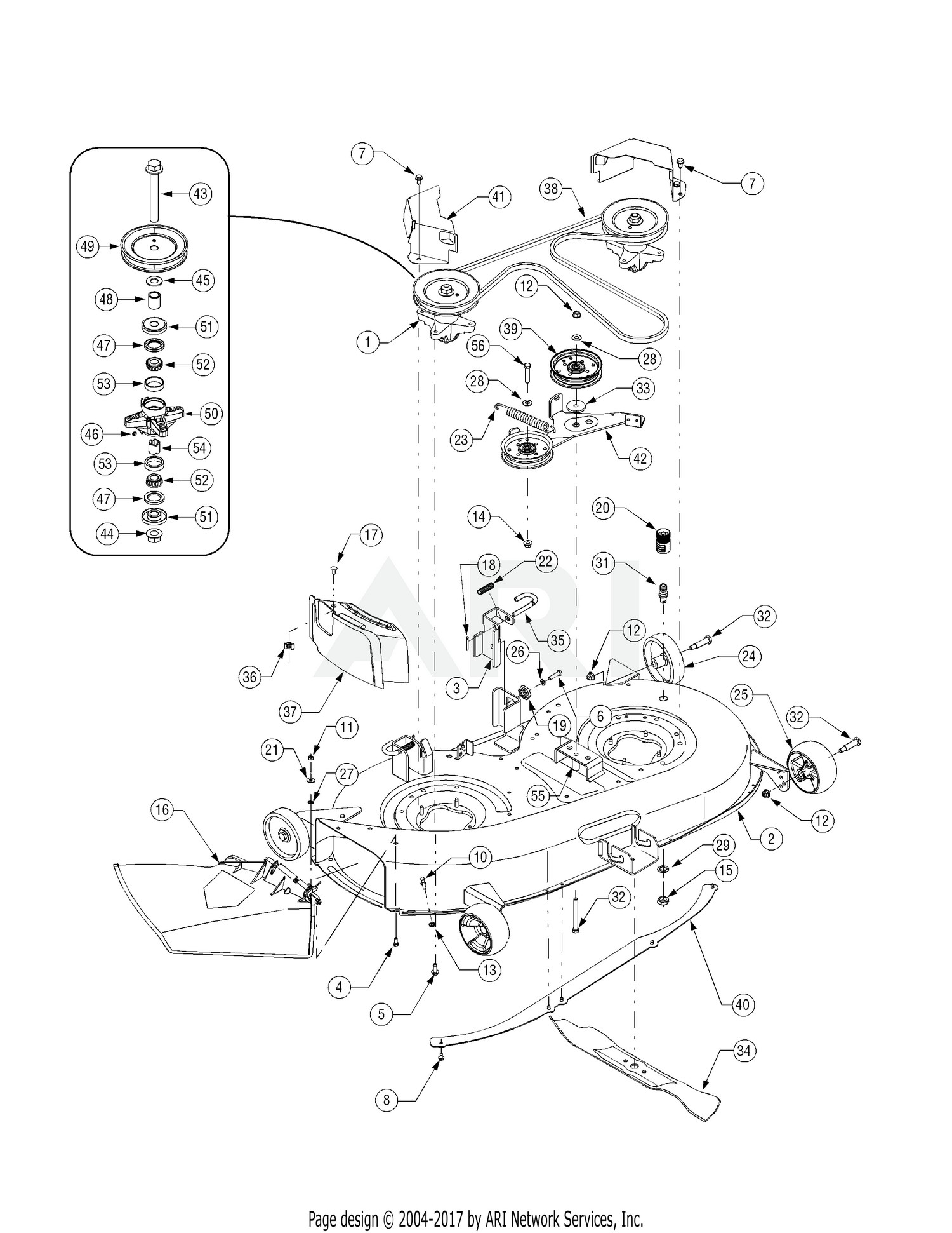 hight resolution of cub cadet lt1042 parts diagram my wiring diagram cub cadet mower deck diagram cub cadet ltx 1042 mower deck