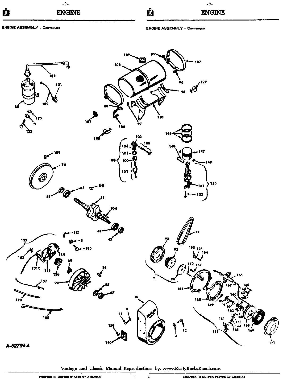 Cub Cadet Lt1042 Parts Diagram Rusty Bucks Ranch Cub Cadet