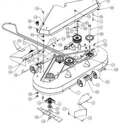 cub cadet zero turn parts diagram cub cadet zero turn fmz 48 17bi4bfy603 2011 mowing deck [ 1272 x 1800 Pixel ]
