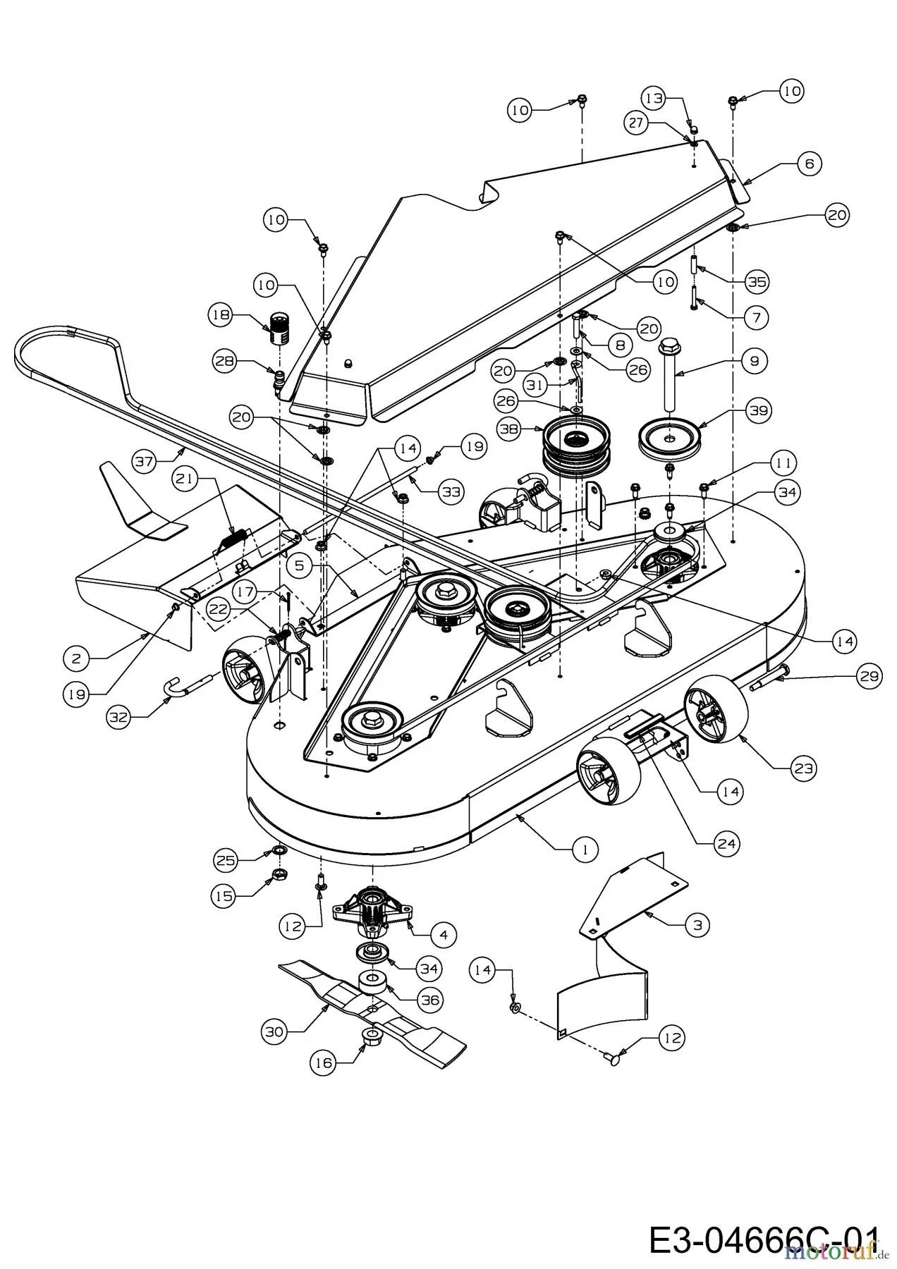 hight resolution of cub cadet zero turn parts diagram cub cadet zero turn fmz 48 17bi4bfy603 2011 mowing deck