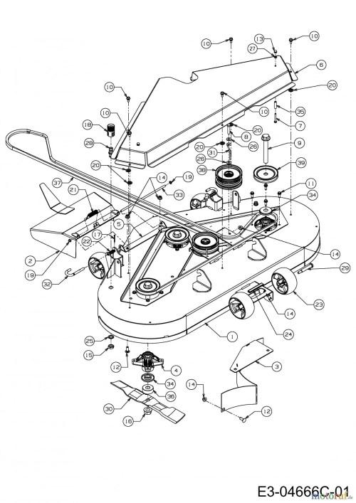 small resolution of cub cadet zero turn parts diagram cub cadet zero turn fmz 48 17bi4bfy603 2011 mowing deck