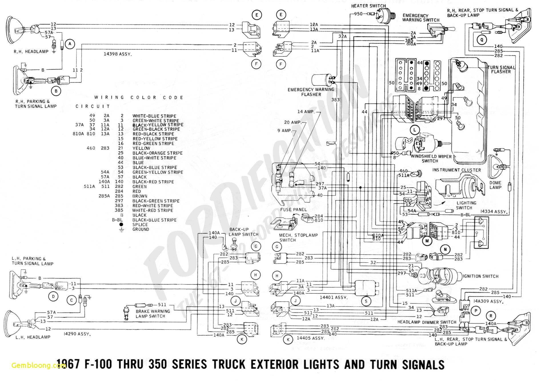 Diagram Of A Truck Download ford Trucks Wiring Diagrams