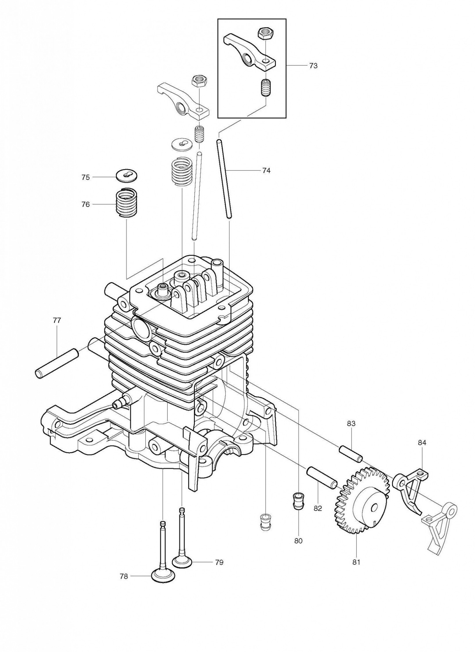 Diagram Of Four Stroke Engine