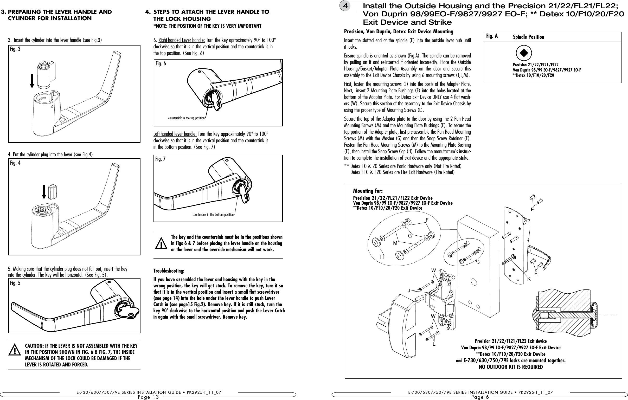 Door Latch Mechanism Diagram