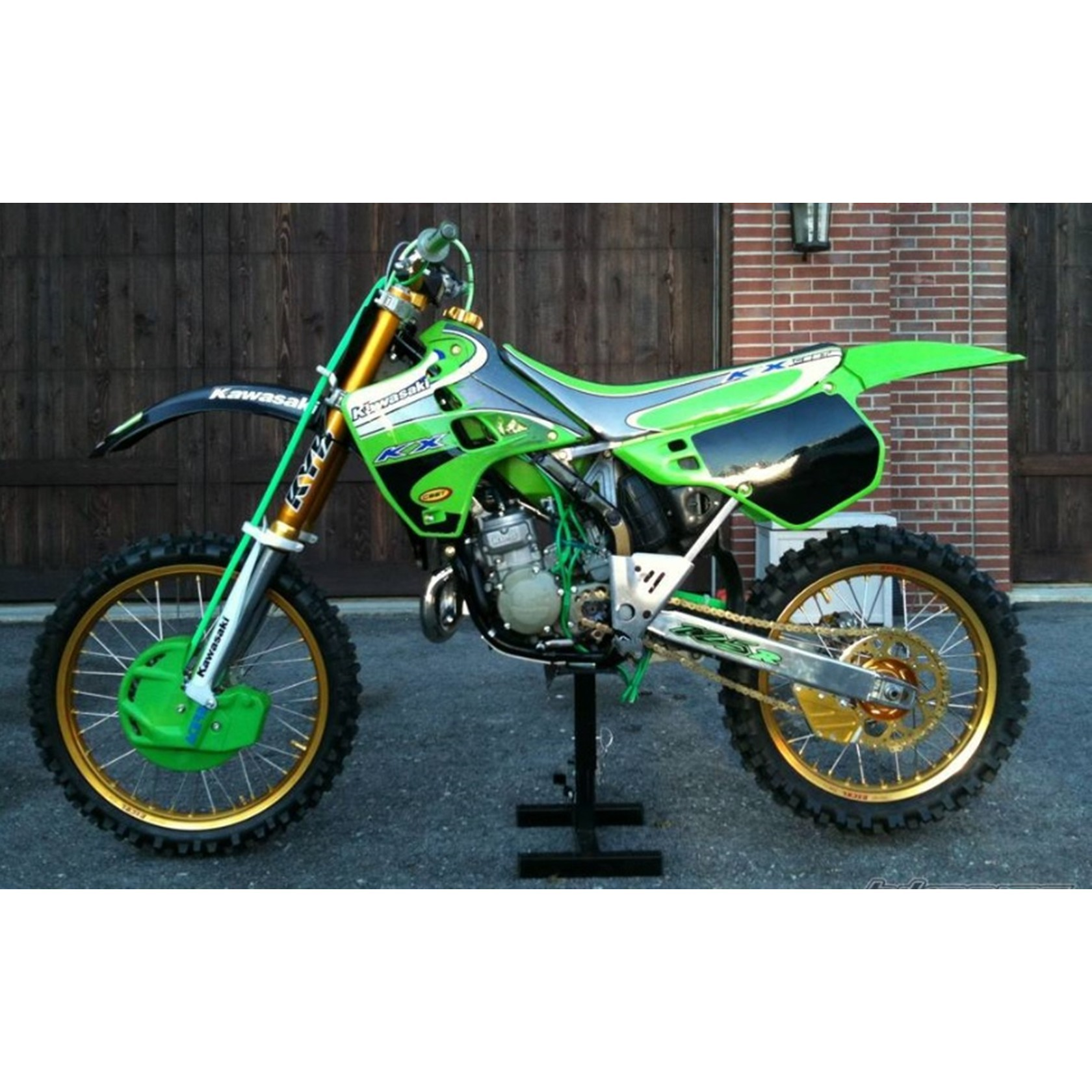 hight resolution of kx 125 engine diagram kawasaki kx125 1986 92 engine covers stainless steel allen bolt kit of