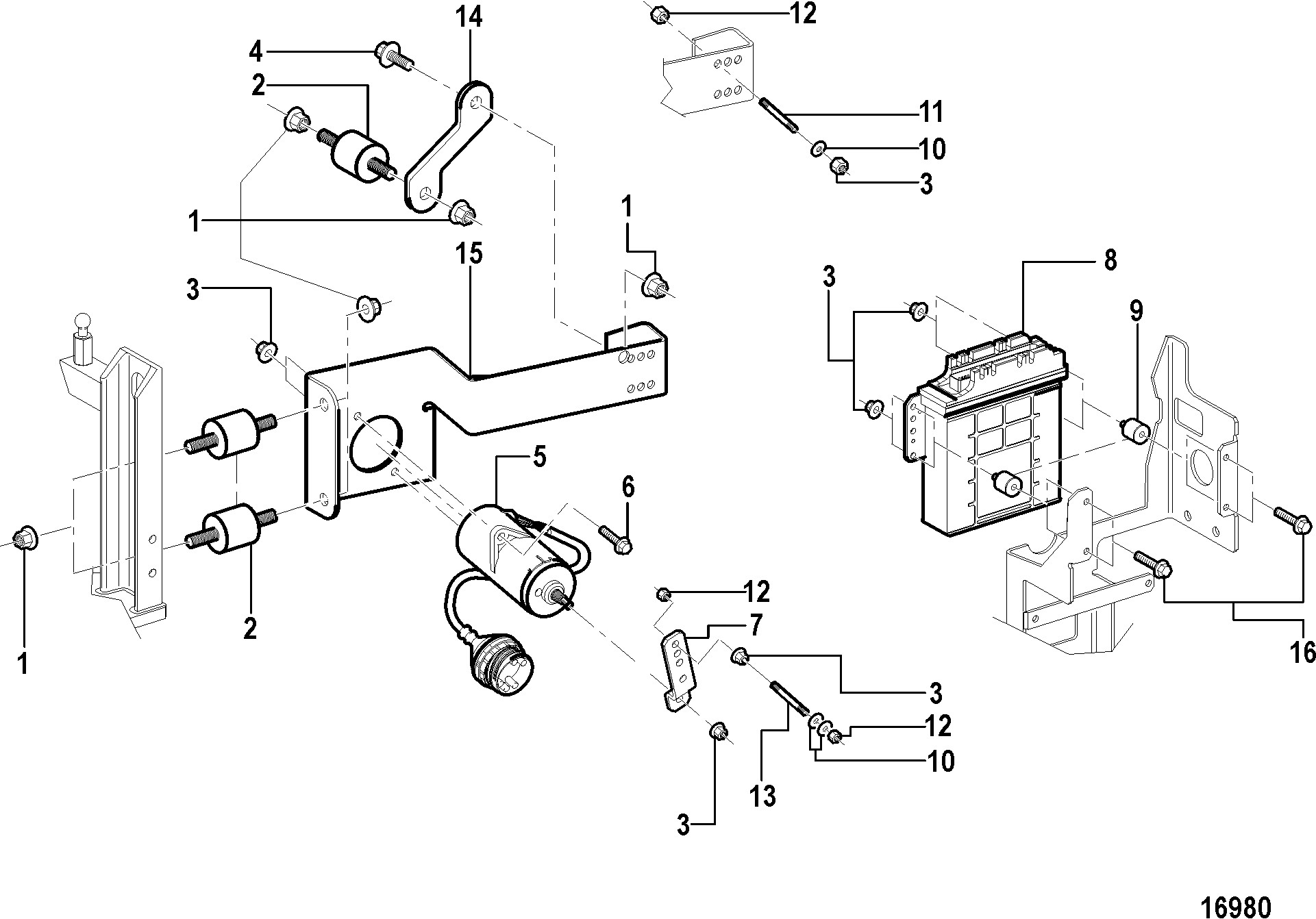 Mercruiser 170 Engine Diagram N N N N