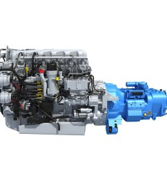 paccar mx 13 engine diagram paccar mx 13 engine with transmission 3d horse of paccar [ 2000 x 1800 Pixel ]