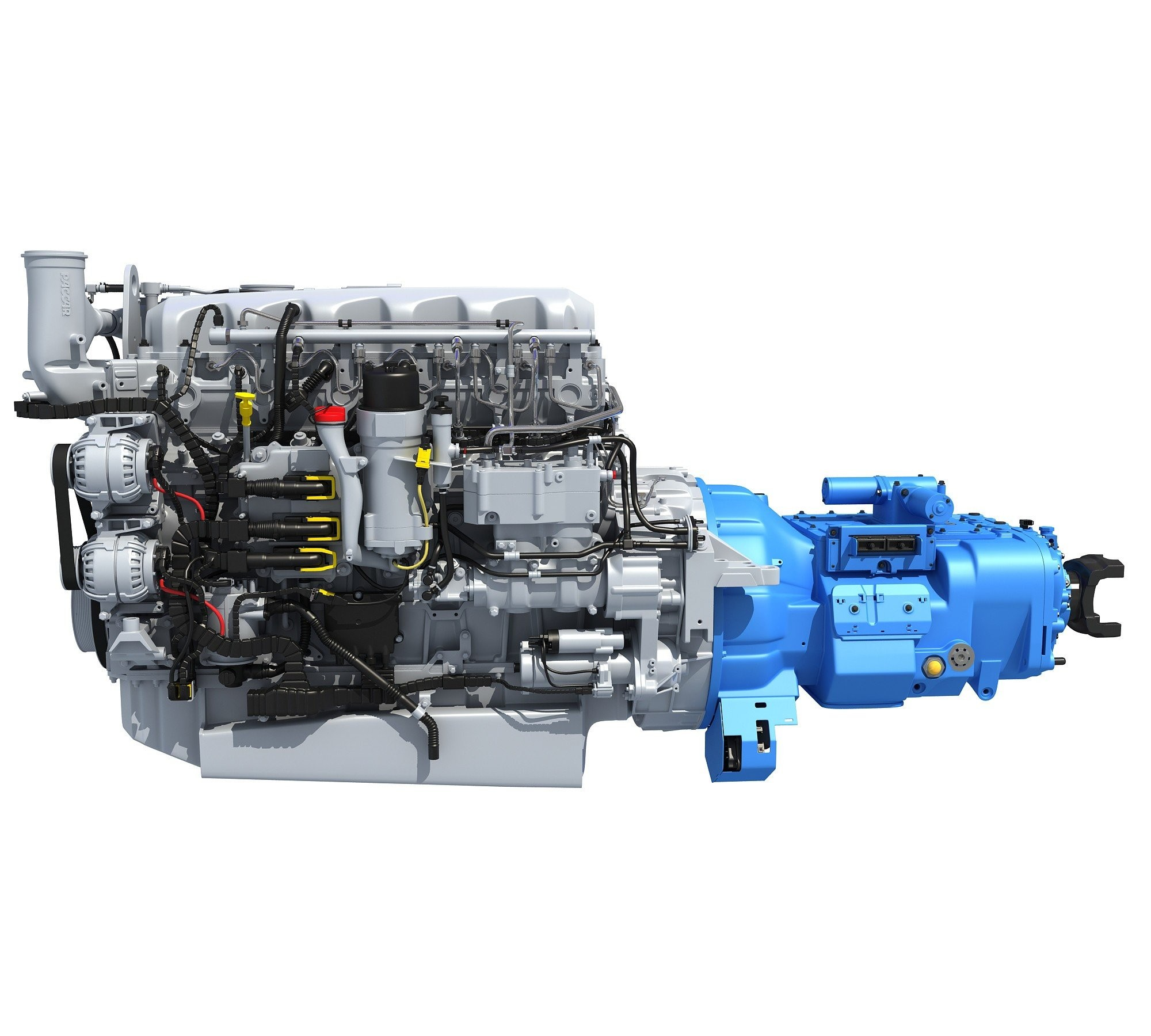 hight resolution of paccar mx 13 engine diagram paccar mx 13 engine with transmission 3d horse of paccar