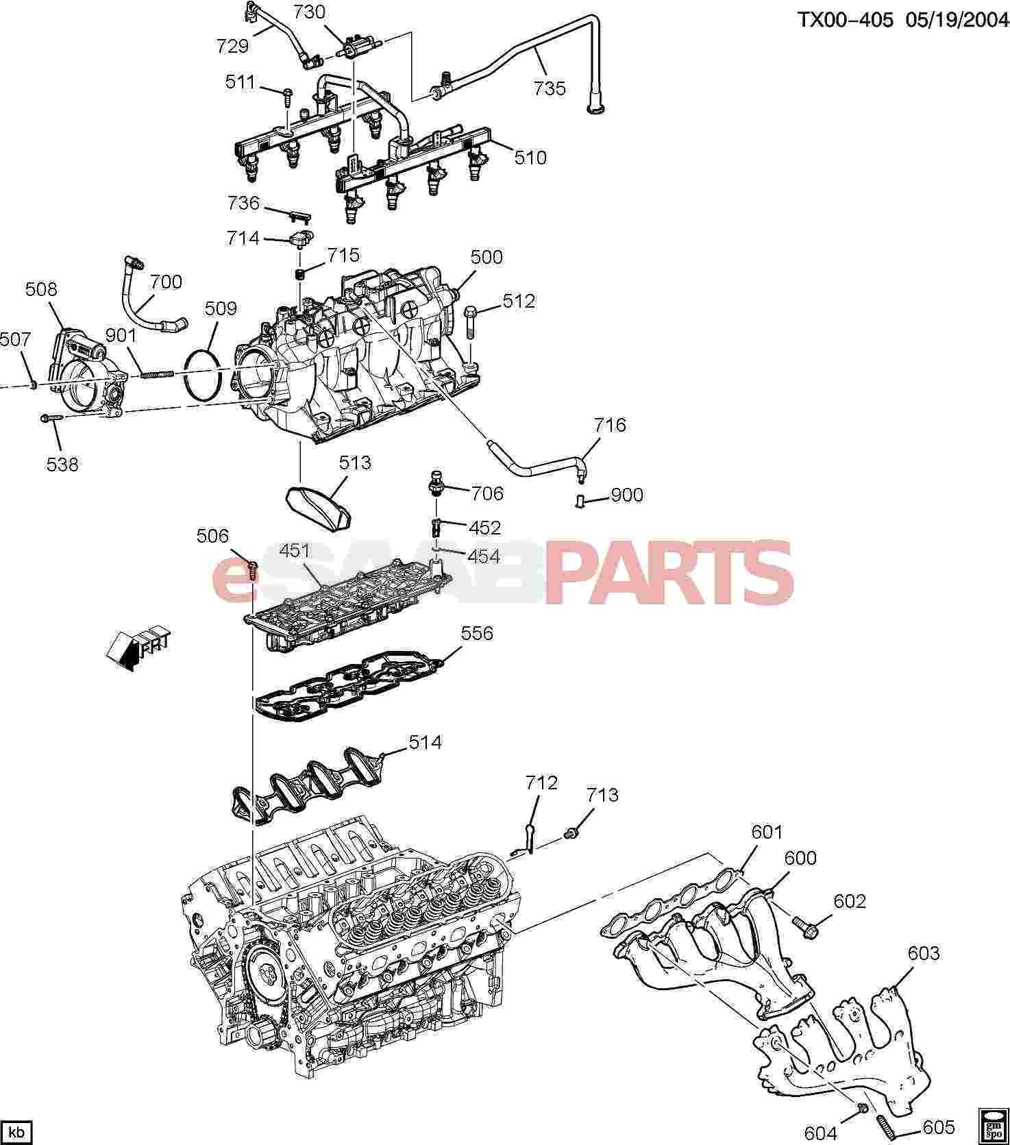 V8 Engine Parts Diagram 1997 7 3l Engine Diagram Experts