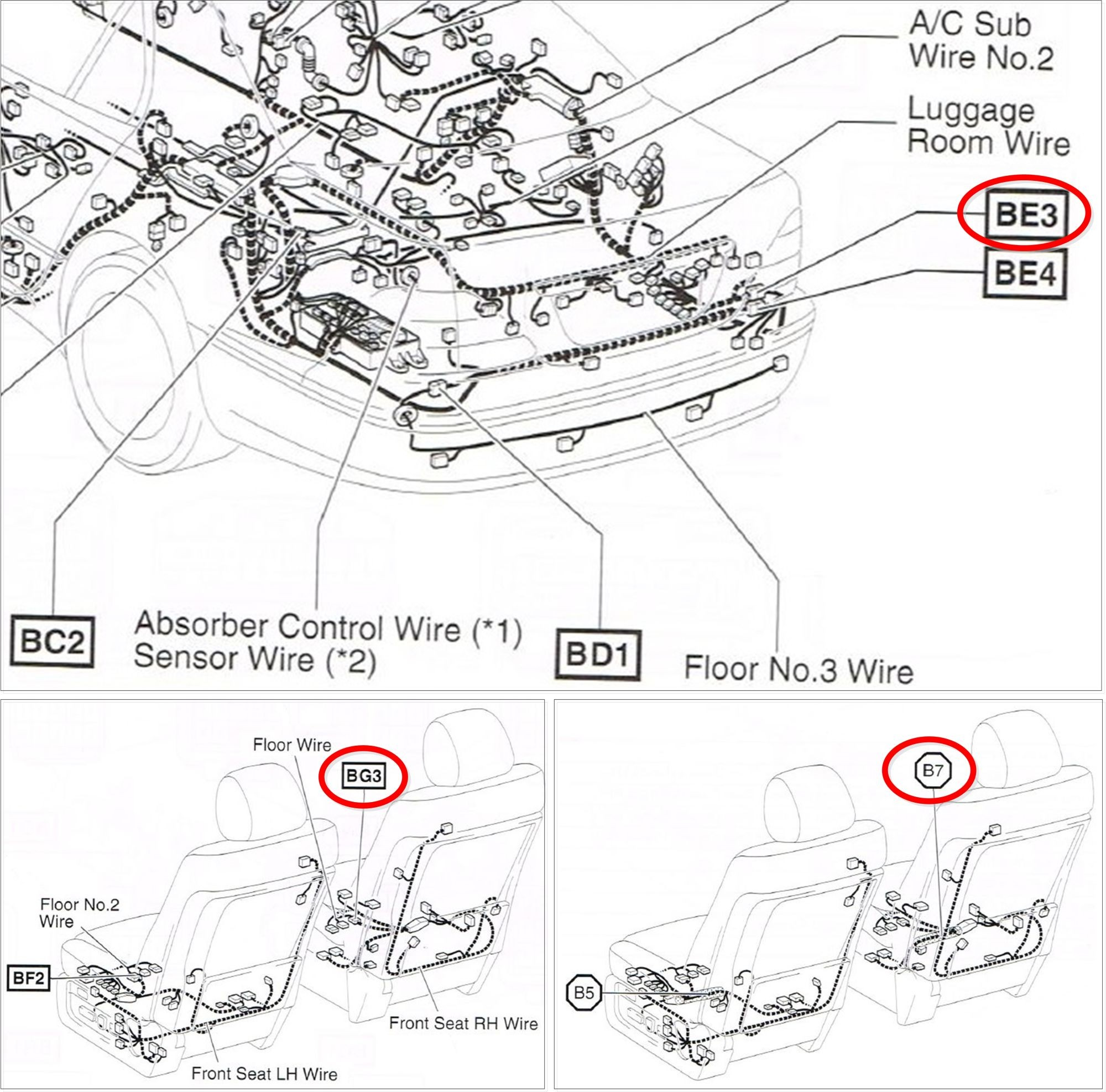 [DIAGRAM] 2002 Lexus Es300 Headlight Diagram Wiring