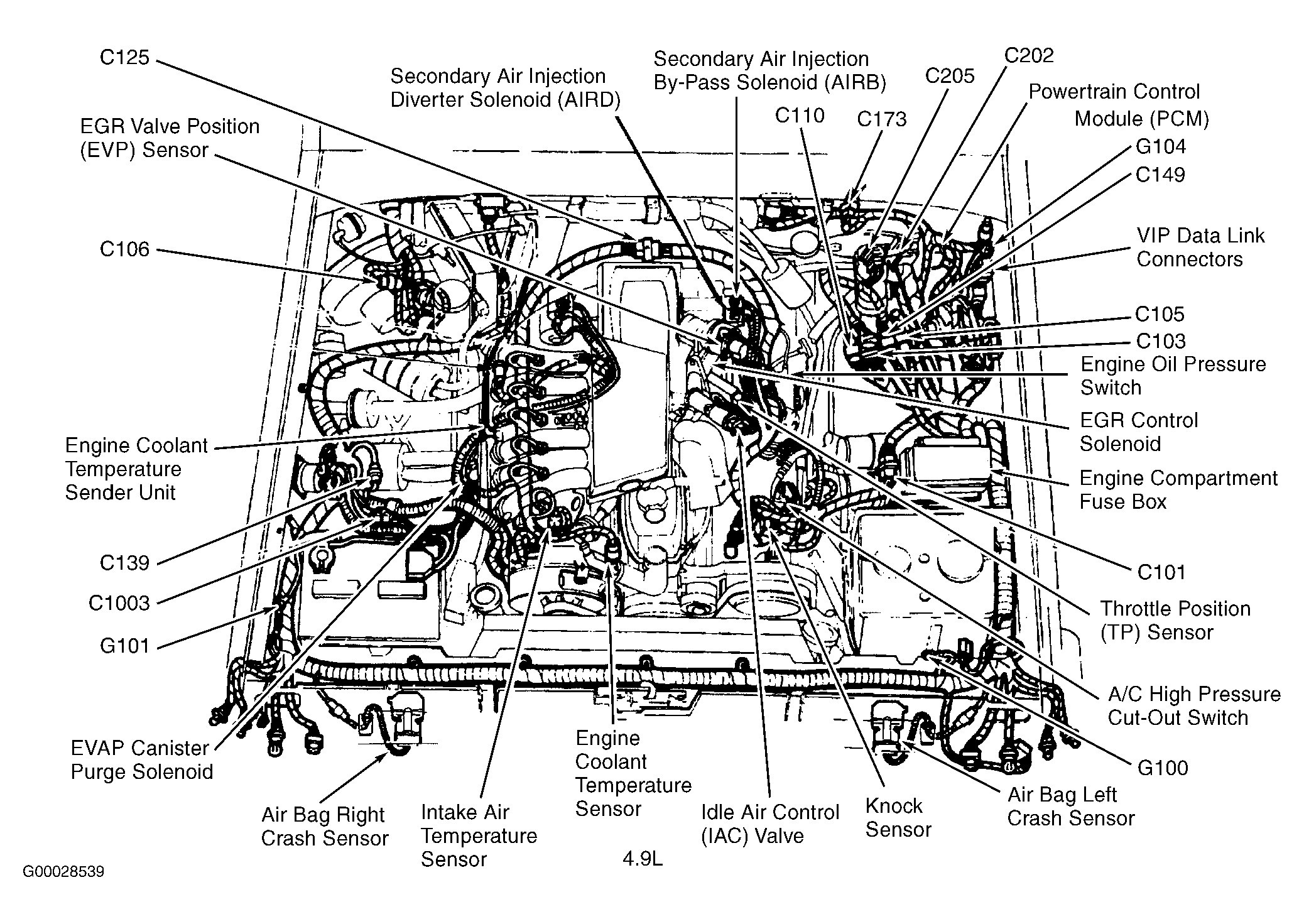 1994 Ford F150 Wiring Schematic
