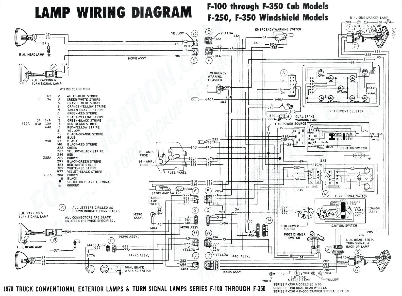 4 Pin Trailer Light Wiring Diagram