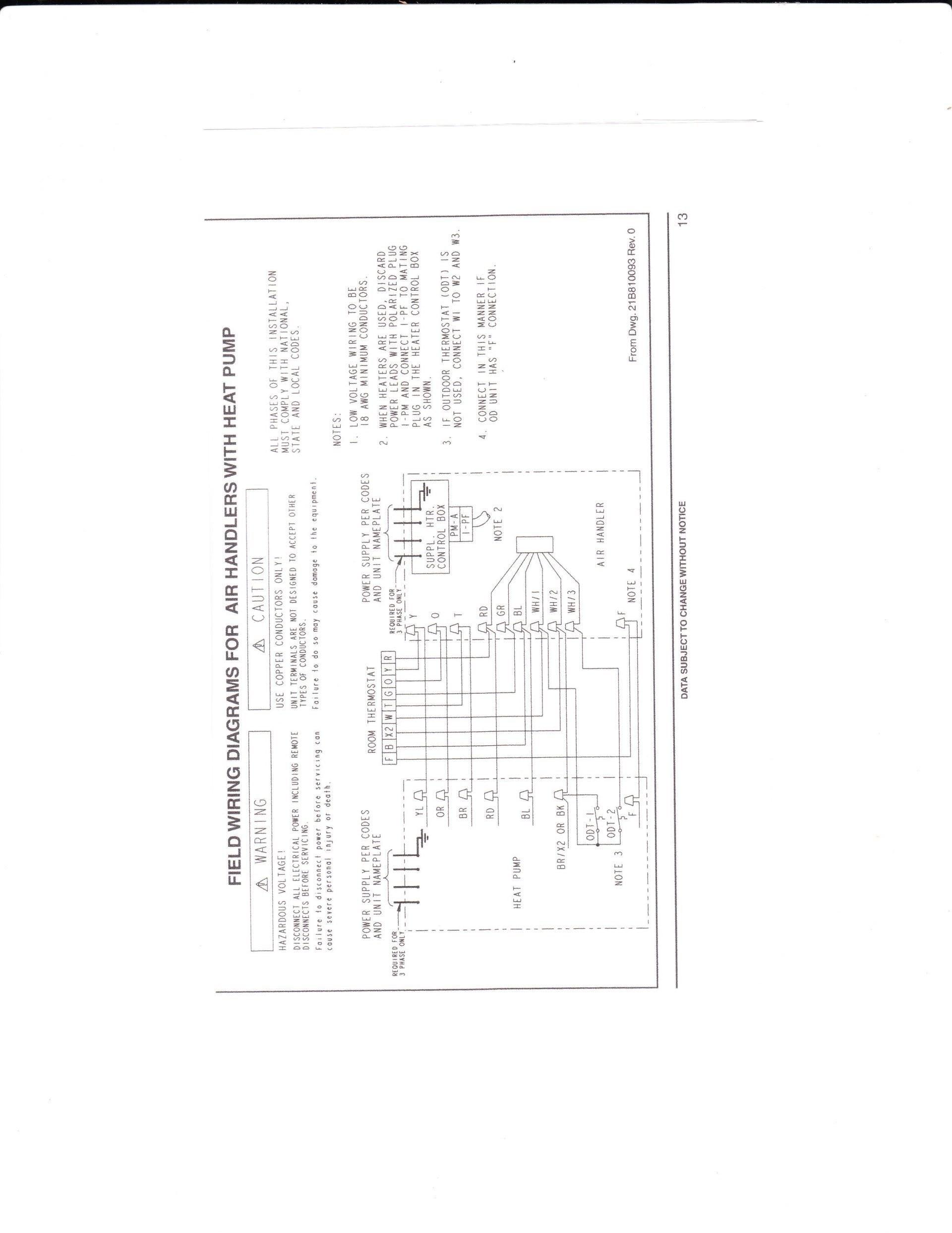 Wiring Schematic For Goodman Heat Pump