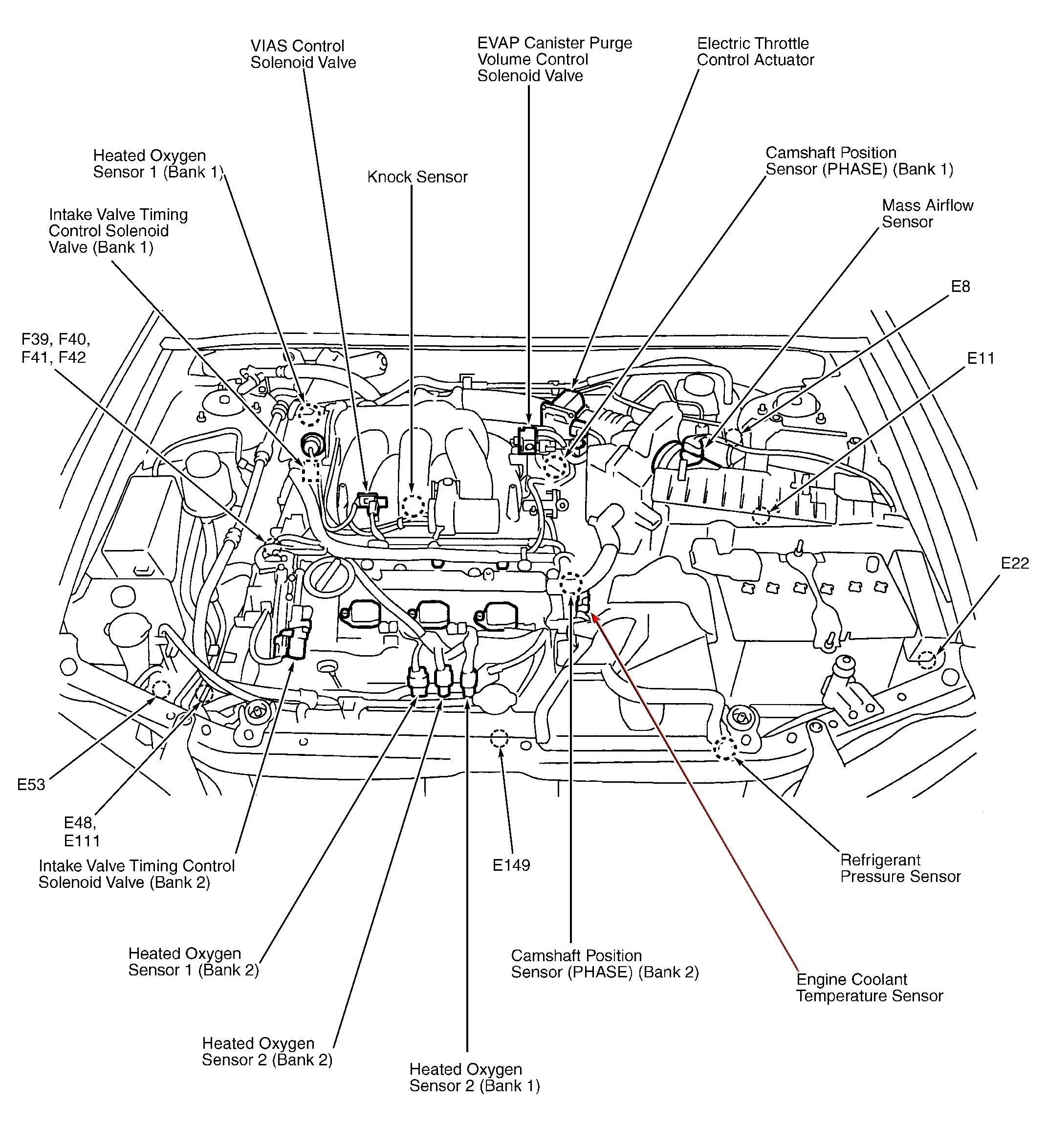 Kia Sephia Engine Diagram